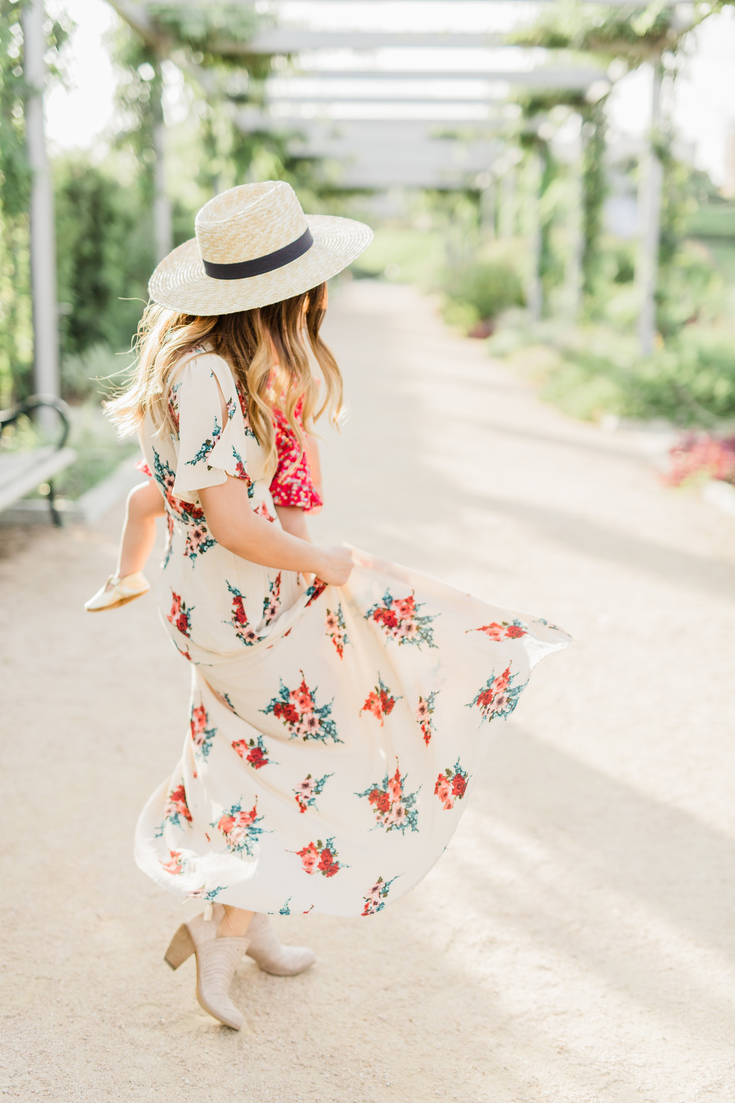 filly flair naturally-nude-taupe-floral-wrap-maxi-dress