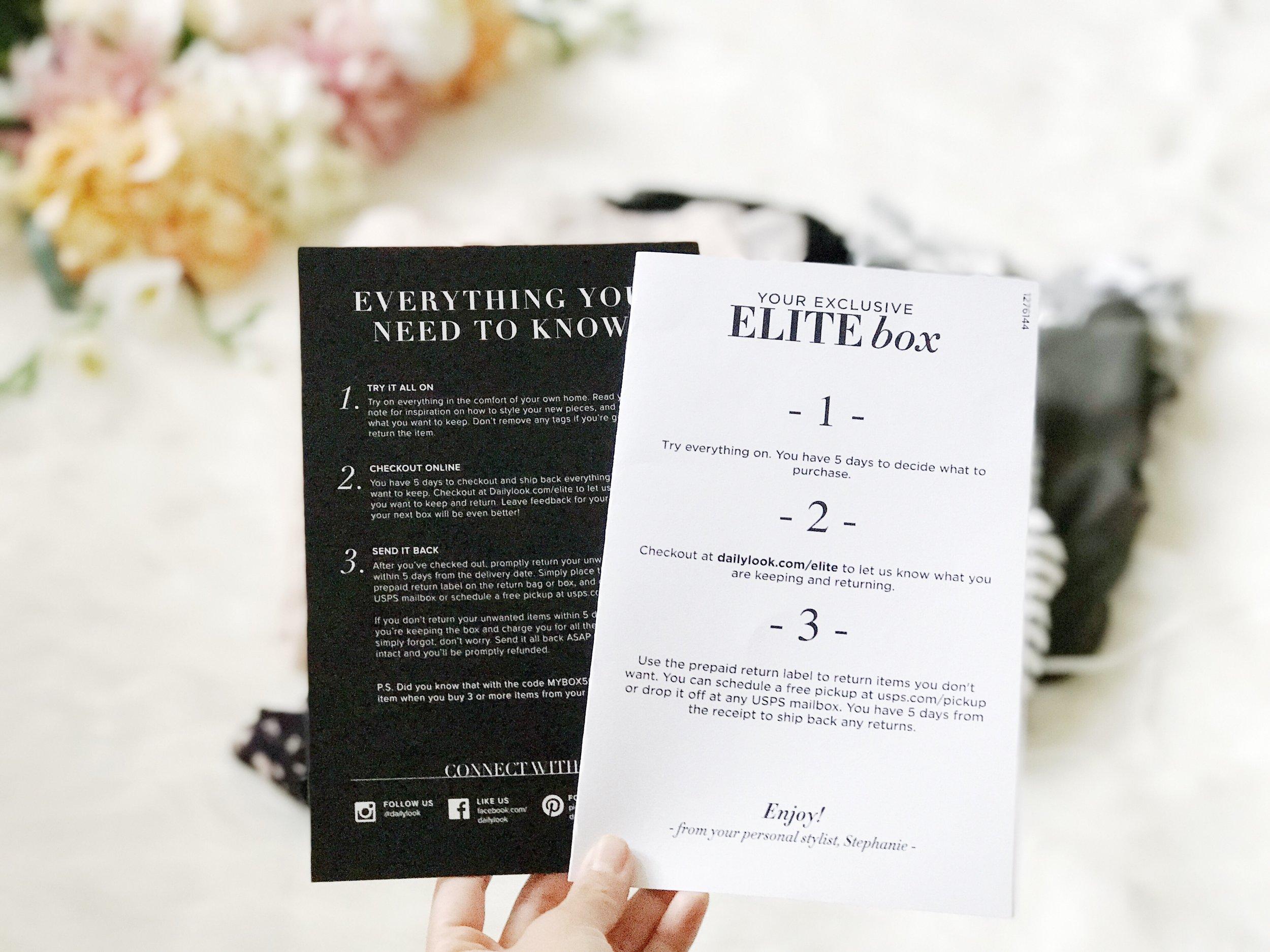 elite box dailylook review