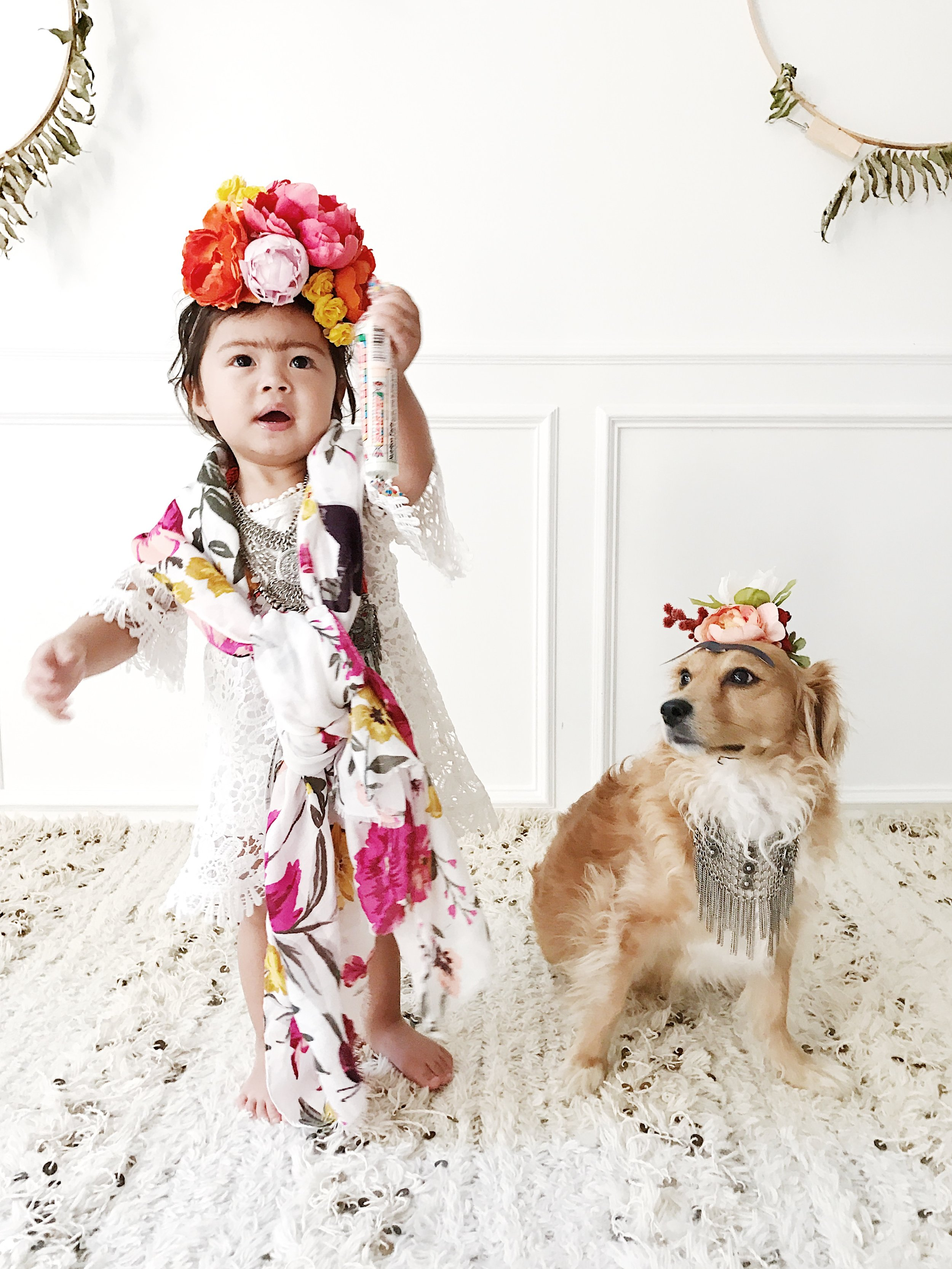 "Smarties Candy ""Smarties Throughout History"" Baby Kids Frida Halloween Costume"