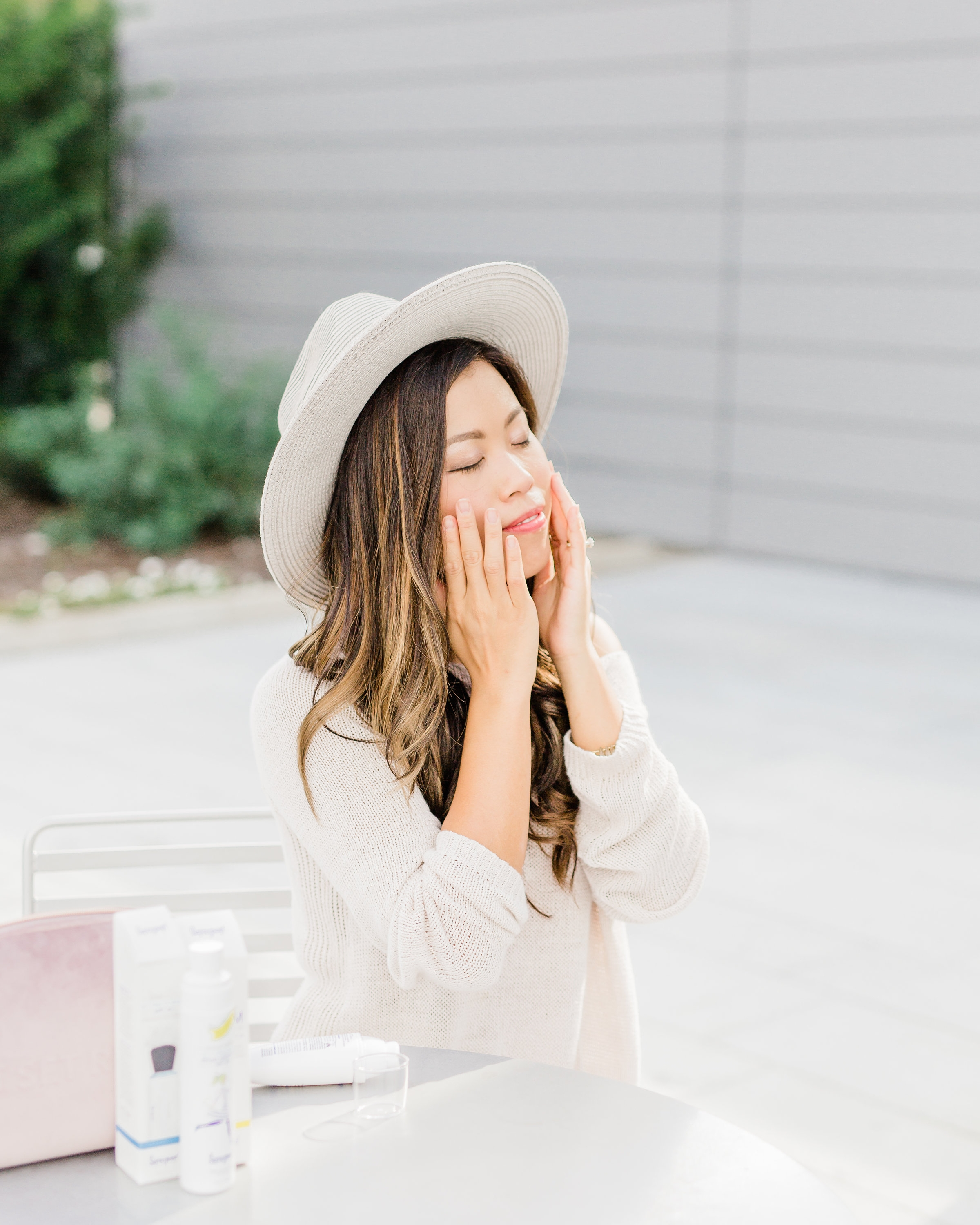 Supergoop! sunscreen routine 5 minute make up beauty advice for aging skin