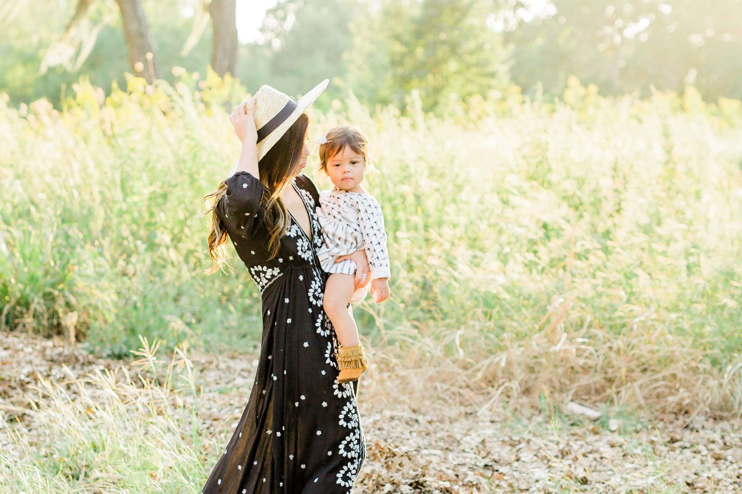FREE PEOPLE Embroidered V Maxi Dress what to wear on family photoshoot boho style