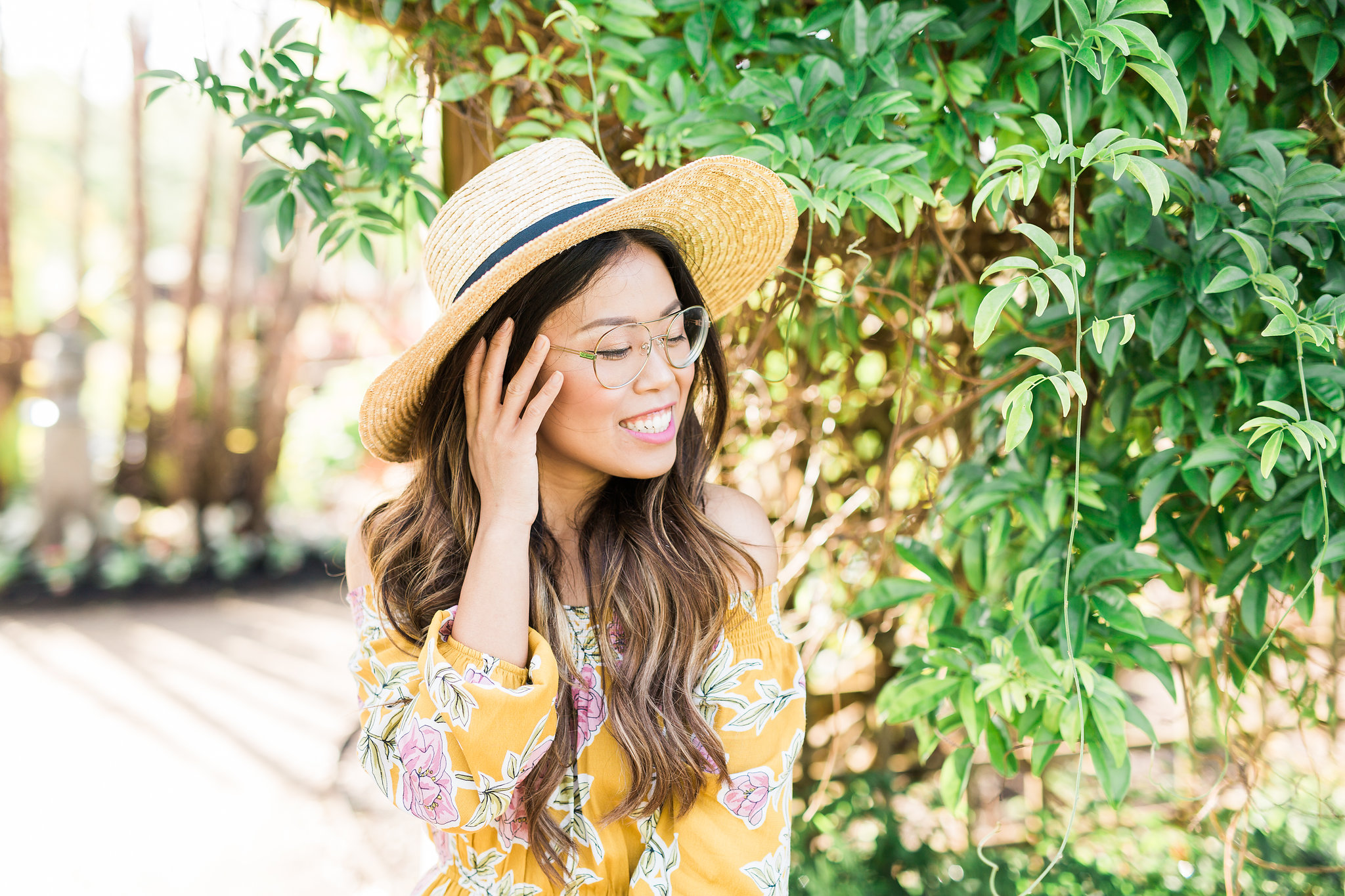 Best Spring Women's Fashion Prescription Eye Glasses Eyeconic Joyfullygreen Chloe Aviators6.jpg