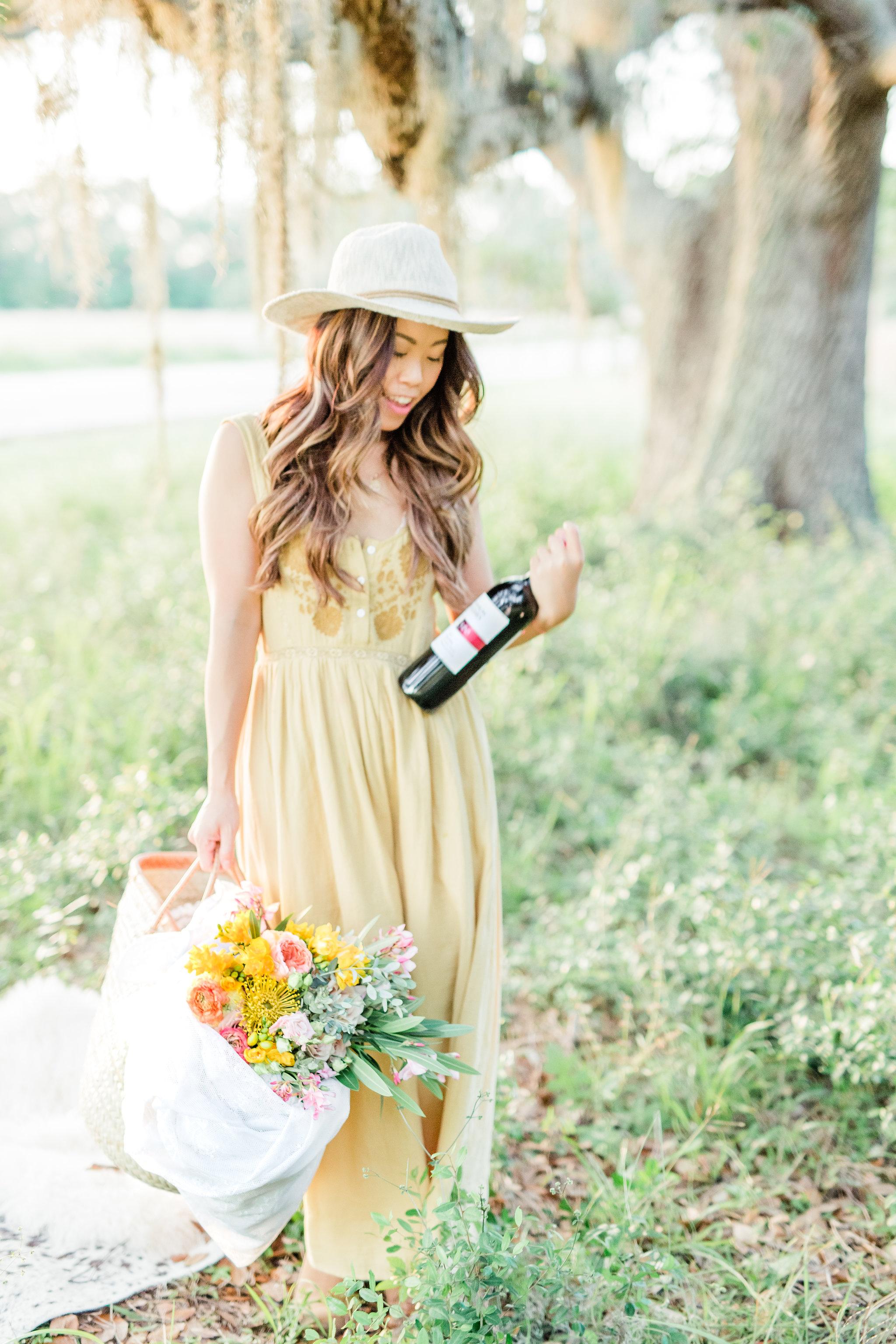 Cameron Hughes Wine Glamping Picnic Houston Picnic Spots Joyfullygreen