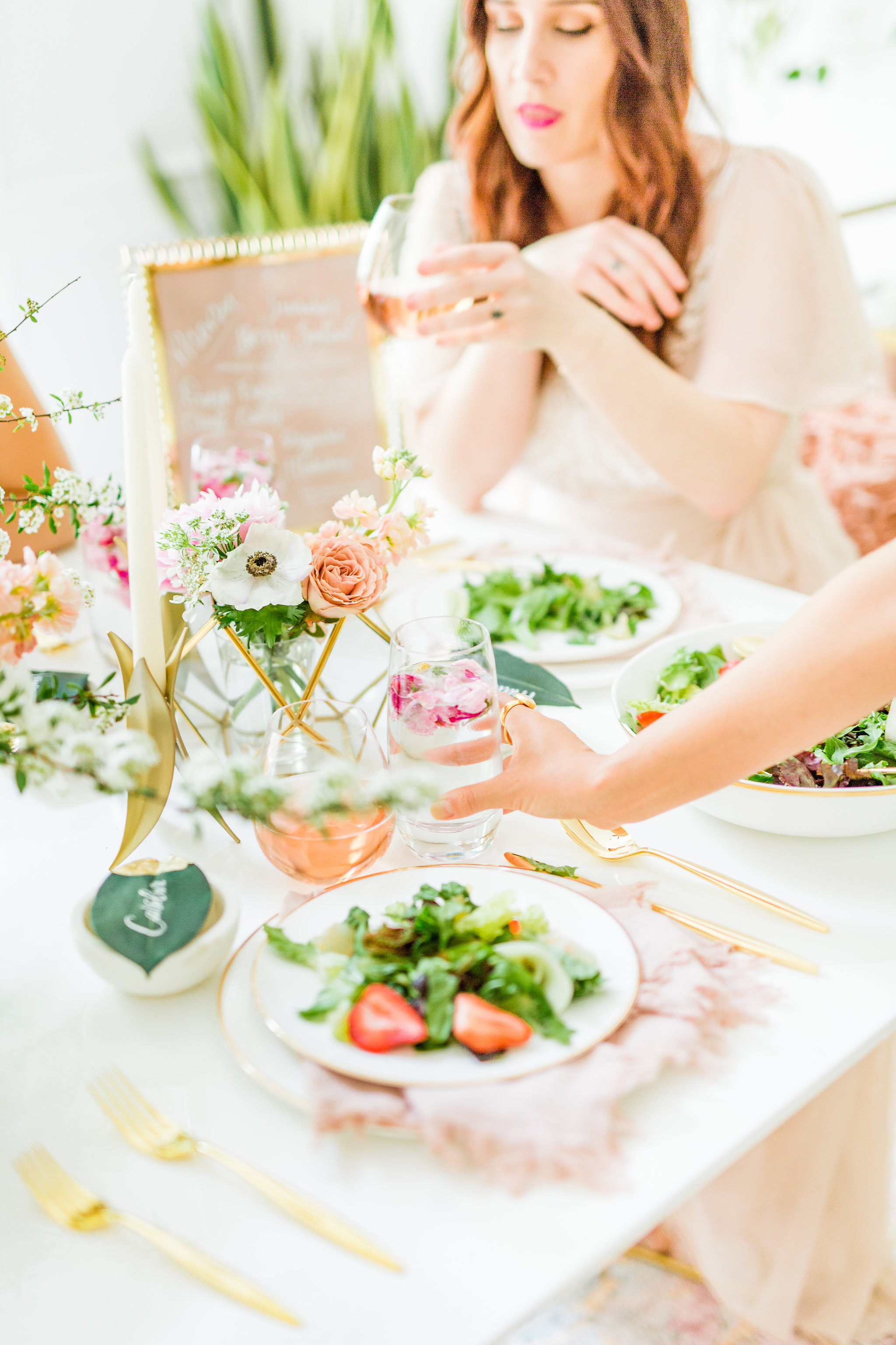 Olivia and Oliver Gold, Blush and Greenry Plants Gilded Garden Styled Bridal Shower Brunch with Bed Bath Beyond Joyfullygreen21.jpg