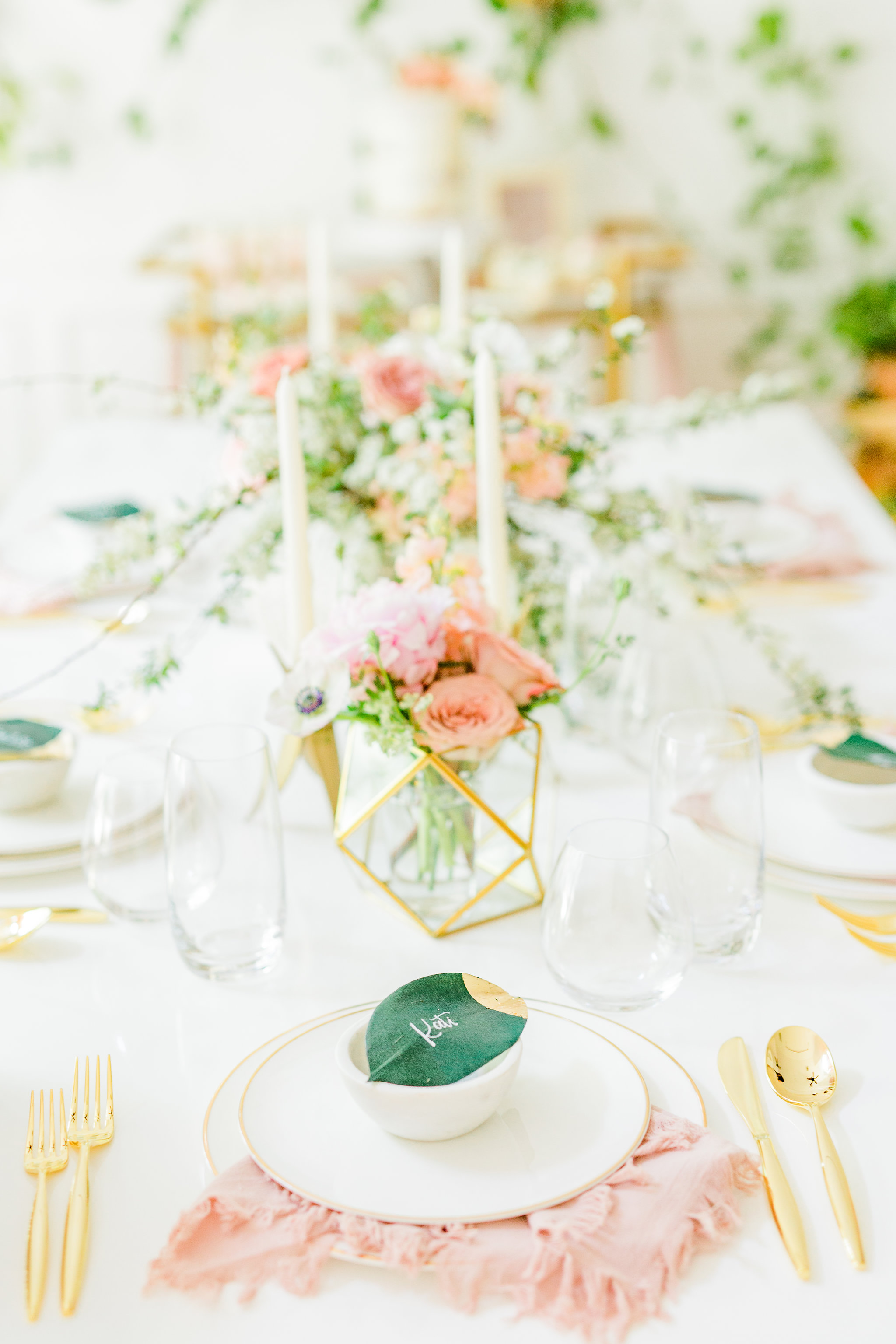 Olivia and Oliver Gold, Blush and Greenry Plants Gilded Garden Styled Bridal Shower Brunch with Bed Bath Beyond GOld terrarium blush bridal shower Joyfullygreen .jpg