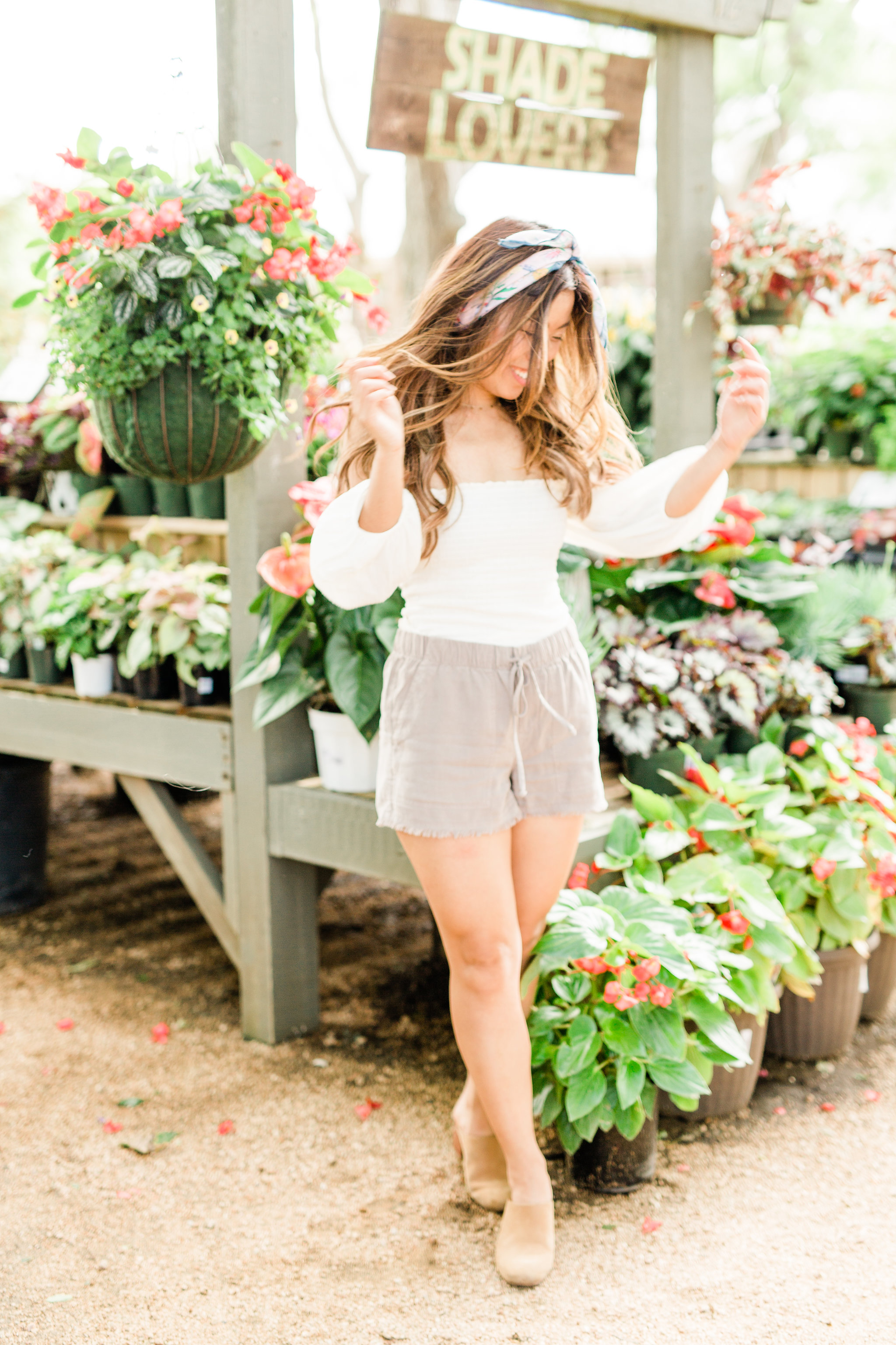 Stitch Fix Review what to wear for summer travel off the shoulder crop top.jpg