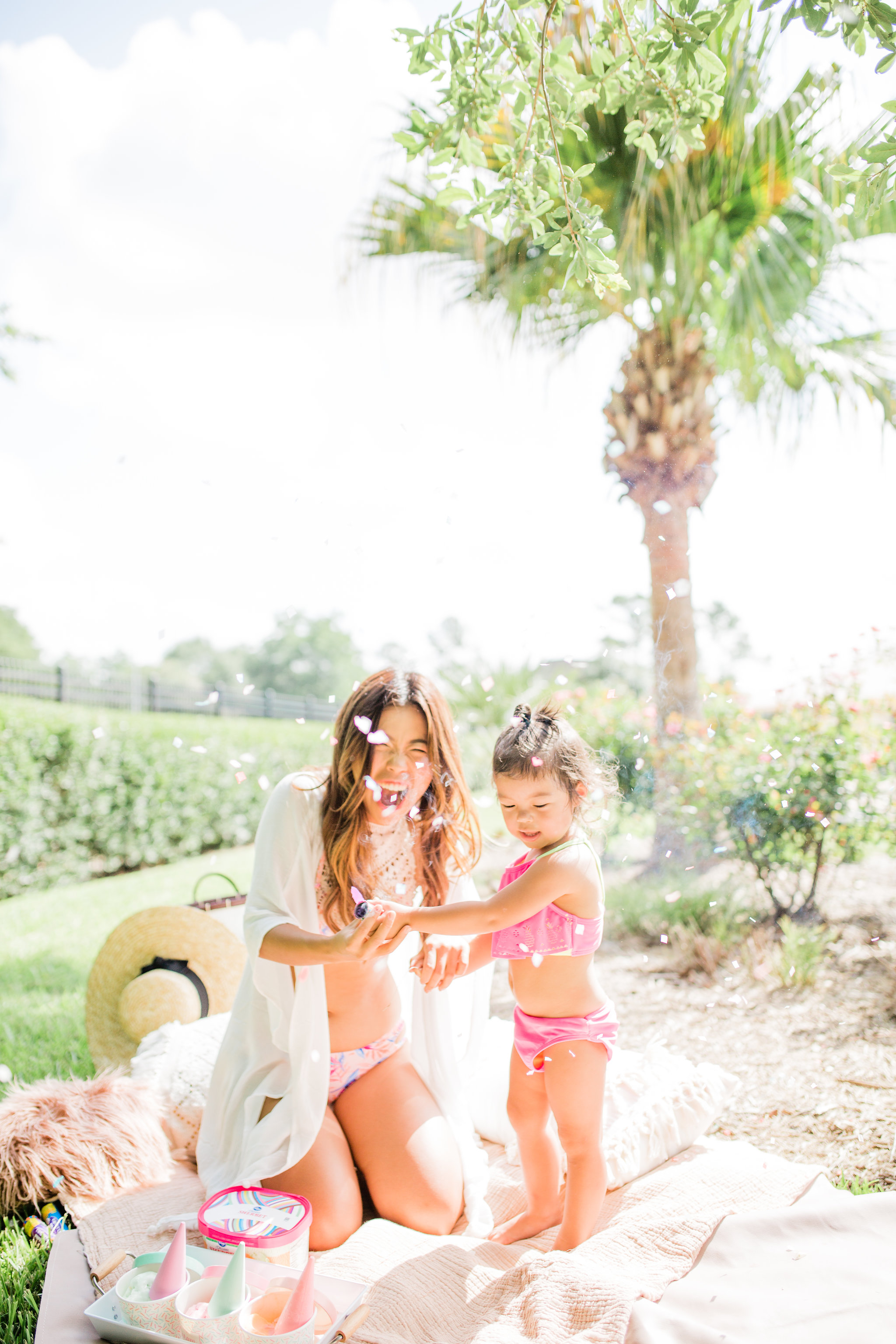 Easy Summer Ice Cream Pool Party You Can Pull off in 30 Minutes Birthday Party Ideas