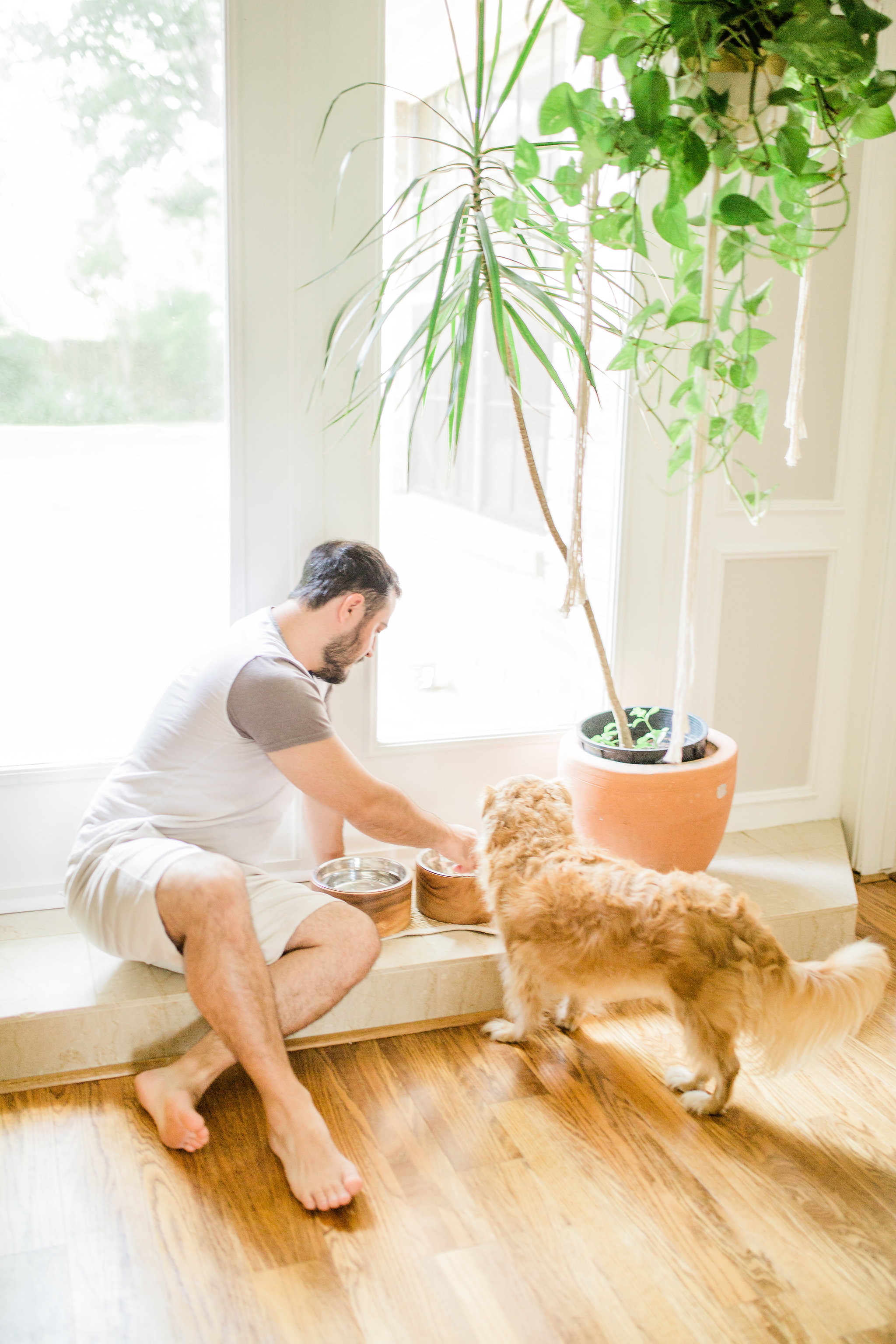 3 ways to create a welcoming and relaxing space for your new puppy on National Dog Day Pet Teepee Dog Bed decor ideas Bed Wooden Dog Food Bowl