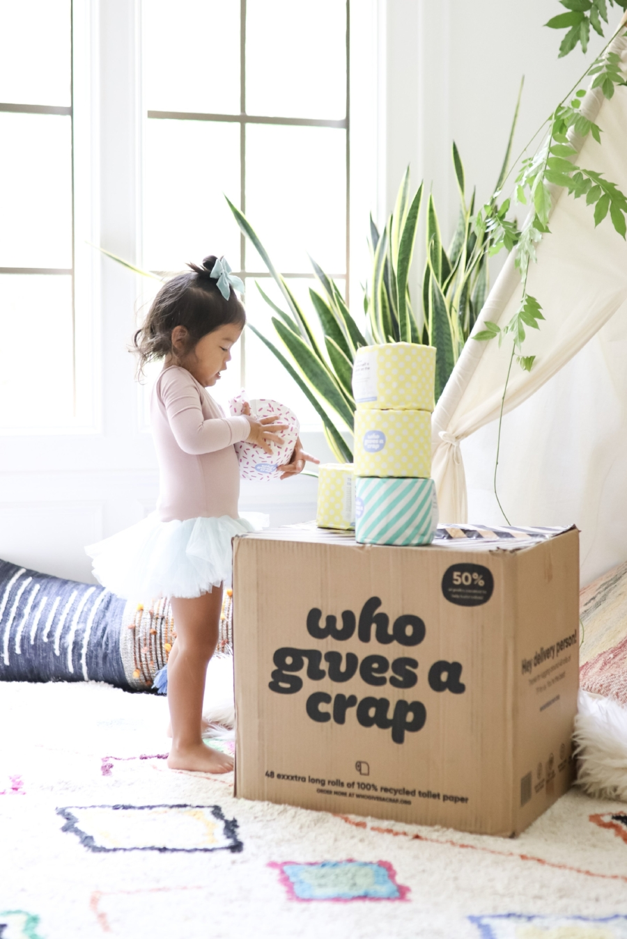 Recycled toilet paper review modern nursery mom blogger joyfullygreen