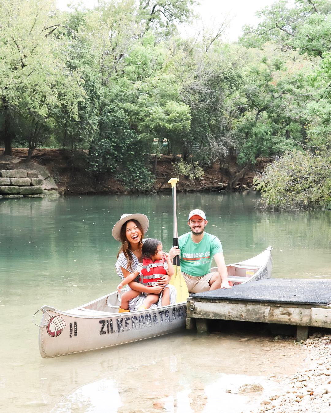 Austin in 72 Hours - Most Instagrammable Spots to Stay, Eat and Play with a Toddler Zilker Park Boat Rental