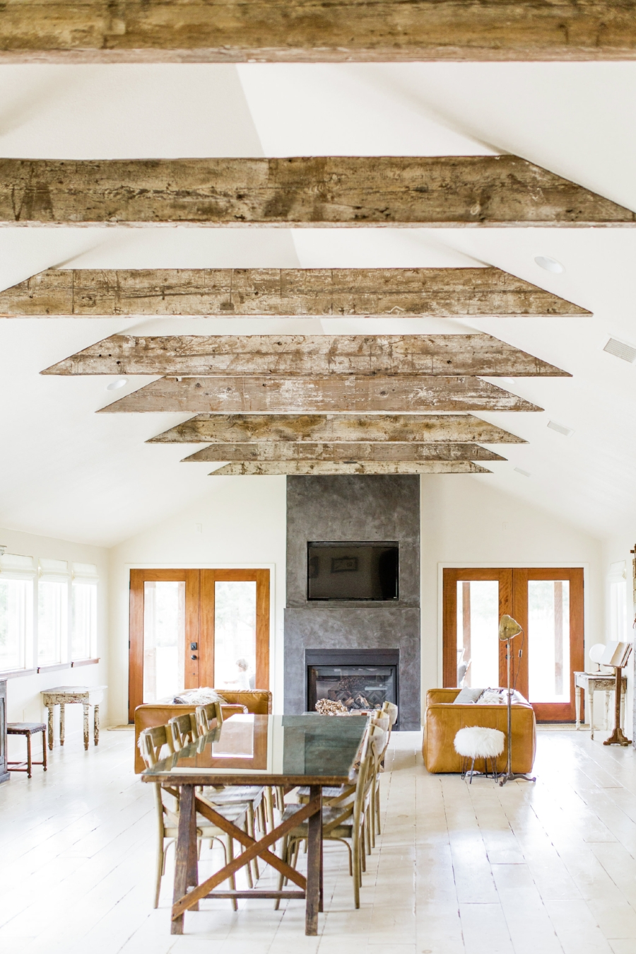 Home Decorating Tips for Beginners, Buy this Not That Boho Modern Farmhouse Style Exposed Wooden Beams