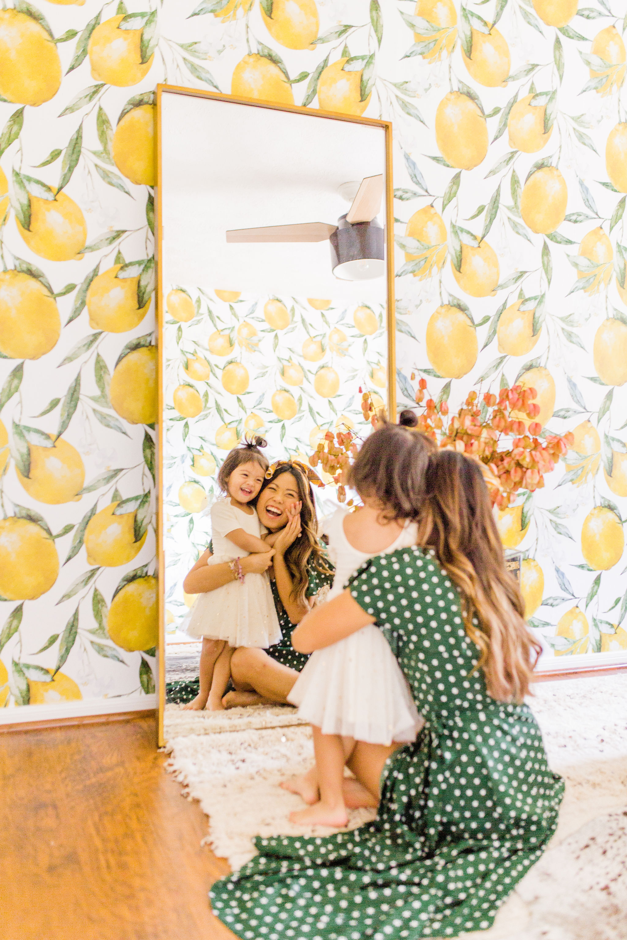 Nov 5 Guest Room Makeover you can do over the weekend with Lemon Wallpaper FAQ about installation