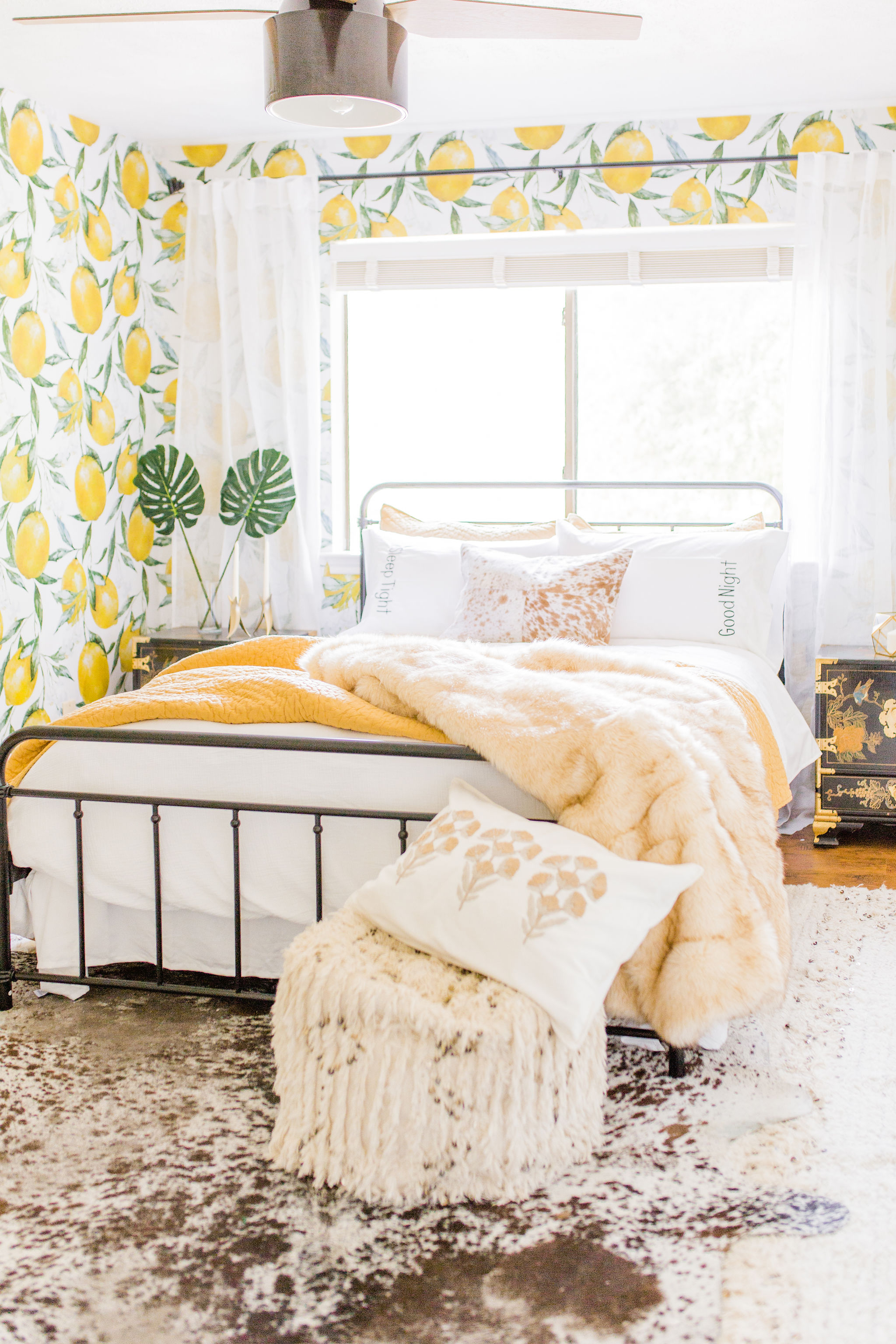 4 things you should before installing peel and stick removable wallpaper lemon guest room make over