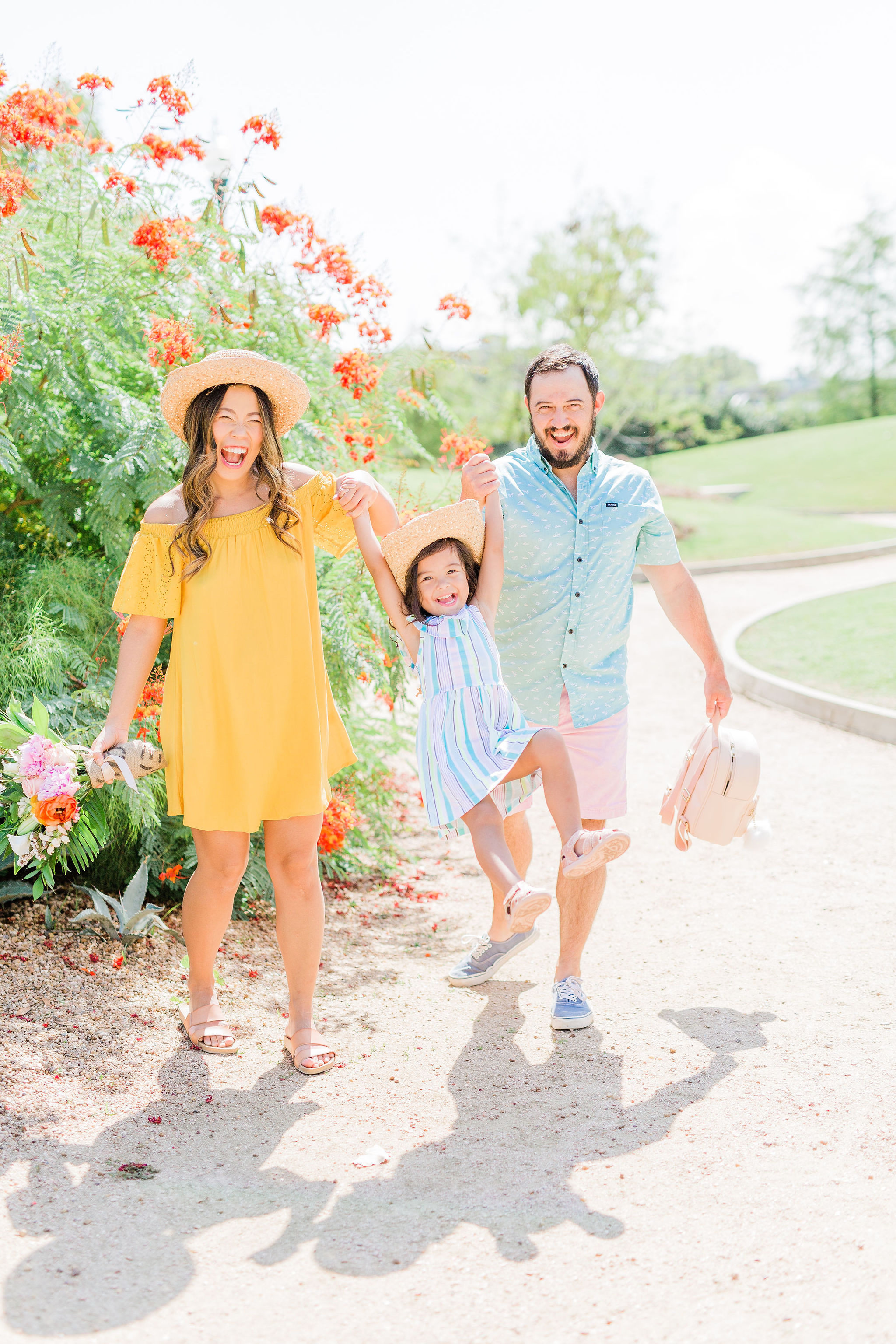 Teaching Toddlers How to Be Grateful - colorful Back to school family outfit ideas Joyfullygreen family travel blog