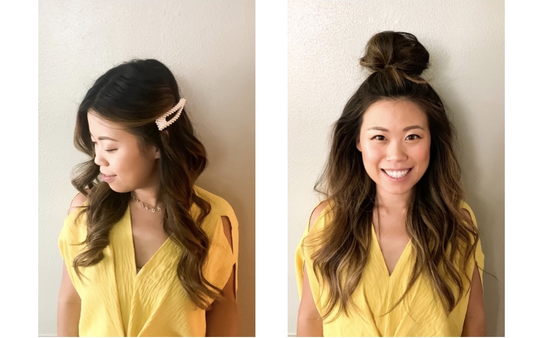 6 hair styles in 6 days without washing your hair. Best Dry Shampoo Review - Day 3&4