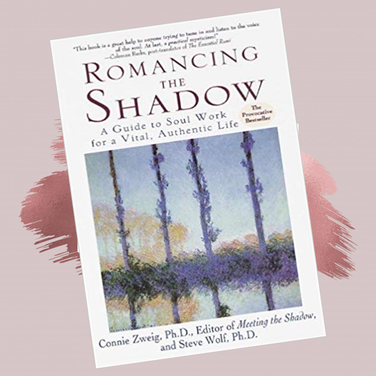 "Romancing The Shadow :  A guide to soul work for a vital, authentic life   Connie Zweig, and Steven Wolf   Beneath the social mask we wear every day, we have a hidden shadow side: an impulsive, wounded, sad, or isolated part that we generally try to ignore, but which can erupt in hurtful ways.""Romancing the shadow""--meeting your dark side, beginning to understand its unconscious messages, and learning to use its powerful energies in productive ways--is the challenging and exciting soul work that Zweig and Wolf offer in this practical, rewarding guide.Drawing on the timeless teachings of Carl Jung and compelling stories from their clinical practices, Zweig and Wolf reveal how the shadow guides your choices in love, sex, marriage, friendship, work, and family life."