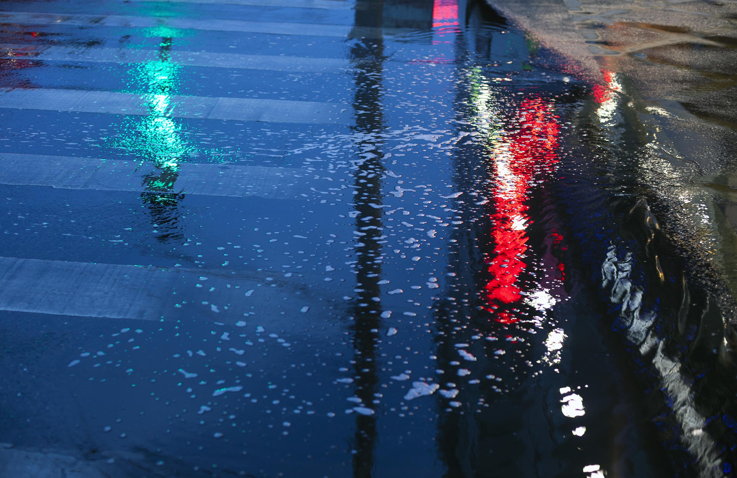 A photograph of reflections in a puddle Beijing, China  Photography for Beijing Government