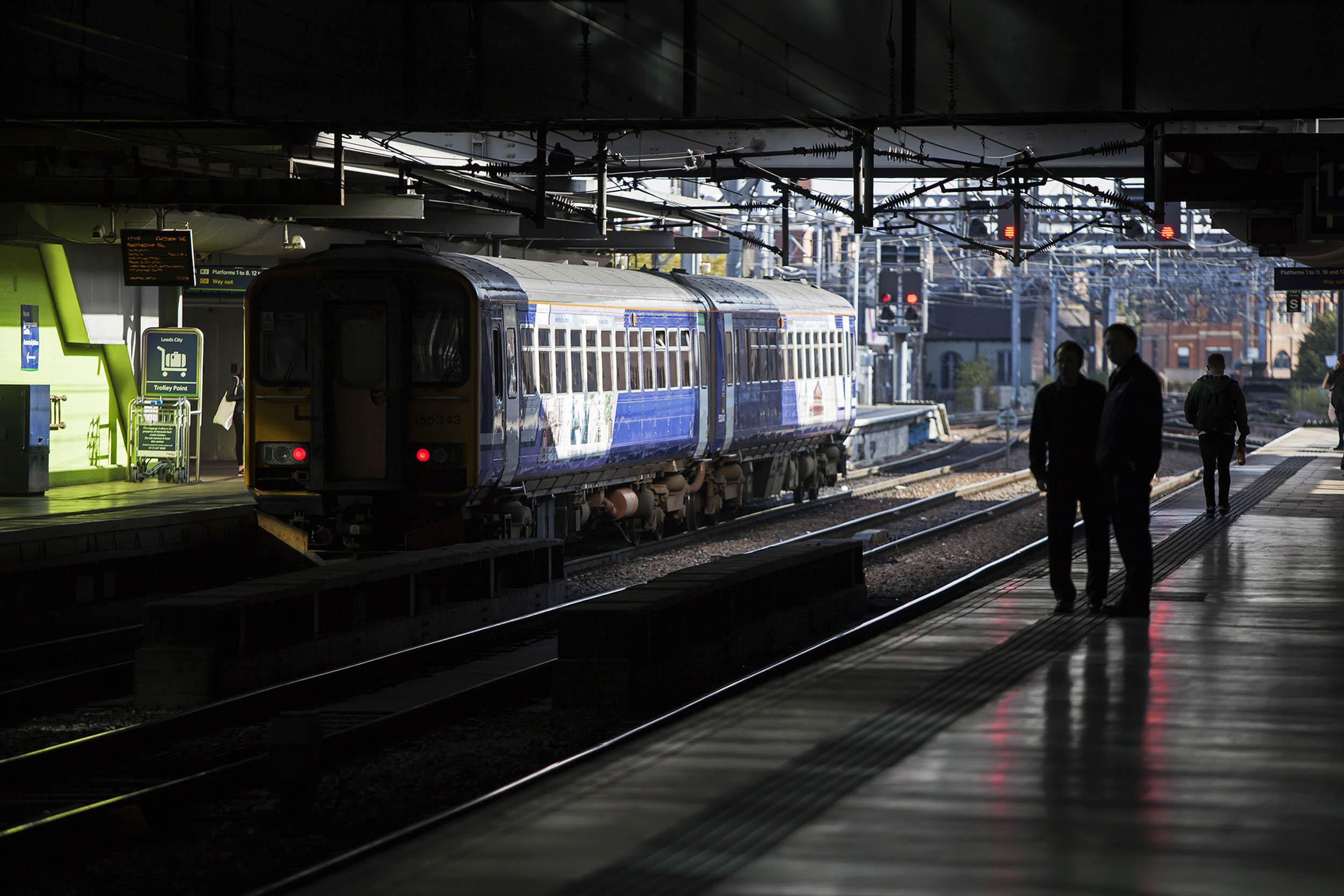 transport for the north  leeds station