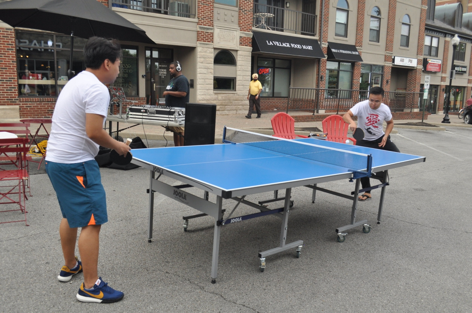 West Lafayette Ping Pong games!