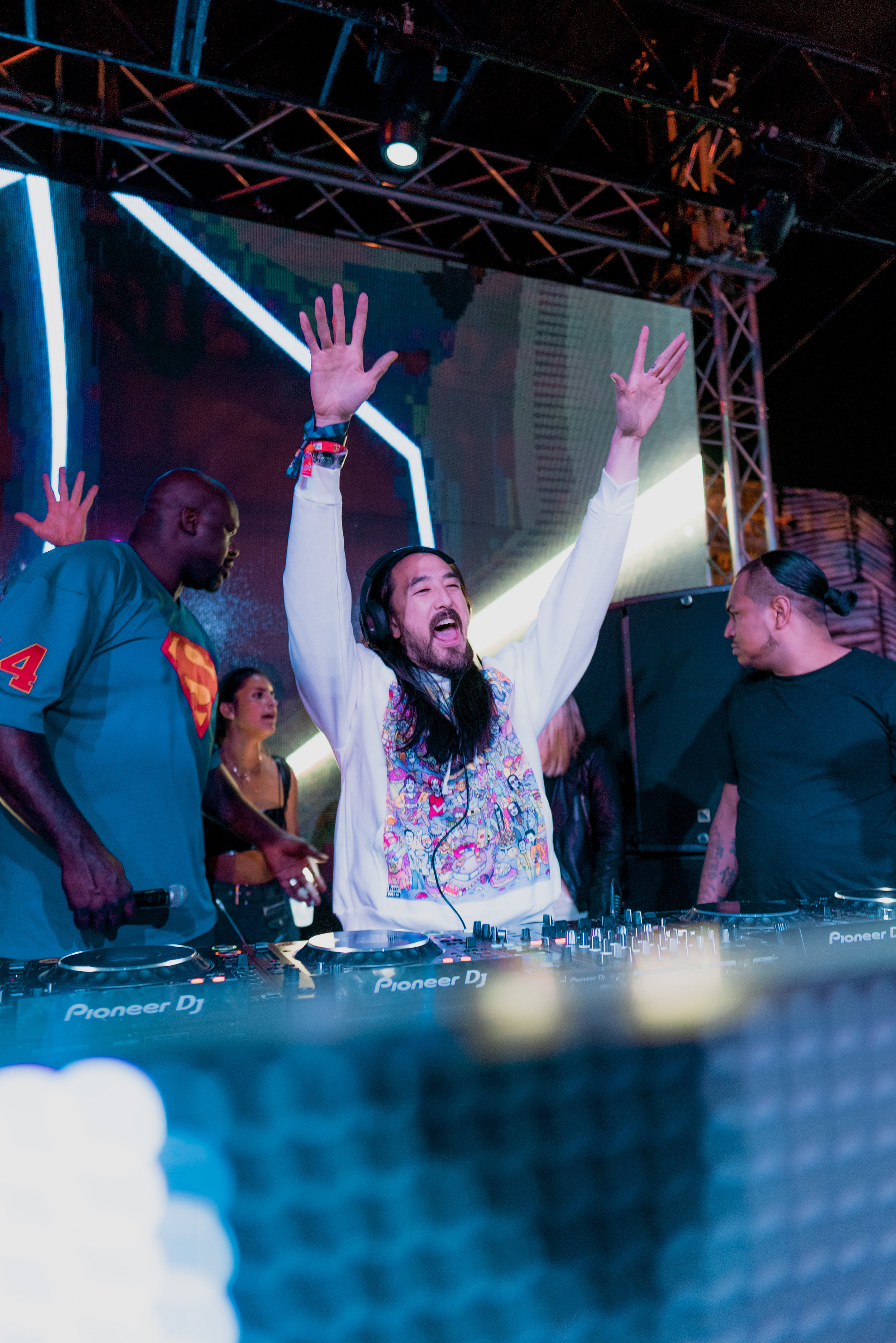 Event: Shaq's Fun House  Artist pictured: Steve Aoki   Event Photography 03/24/18