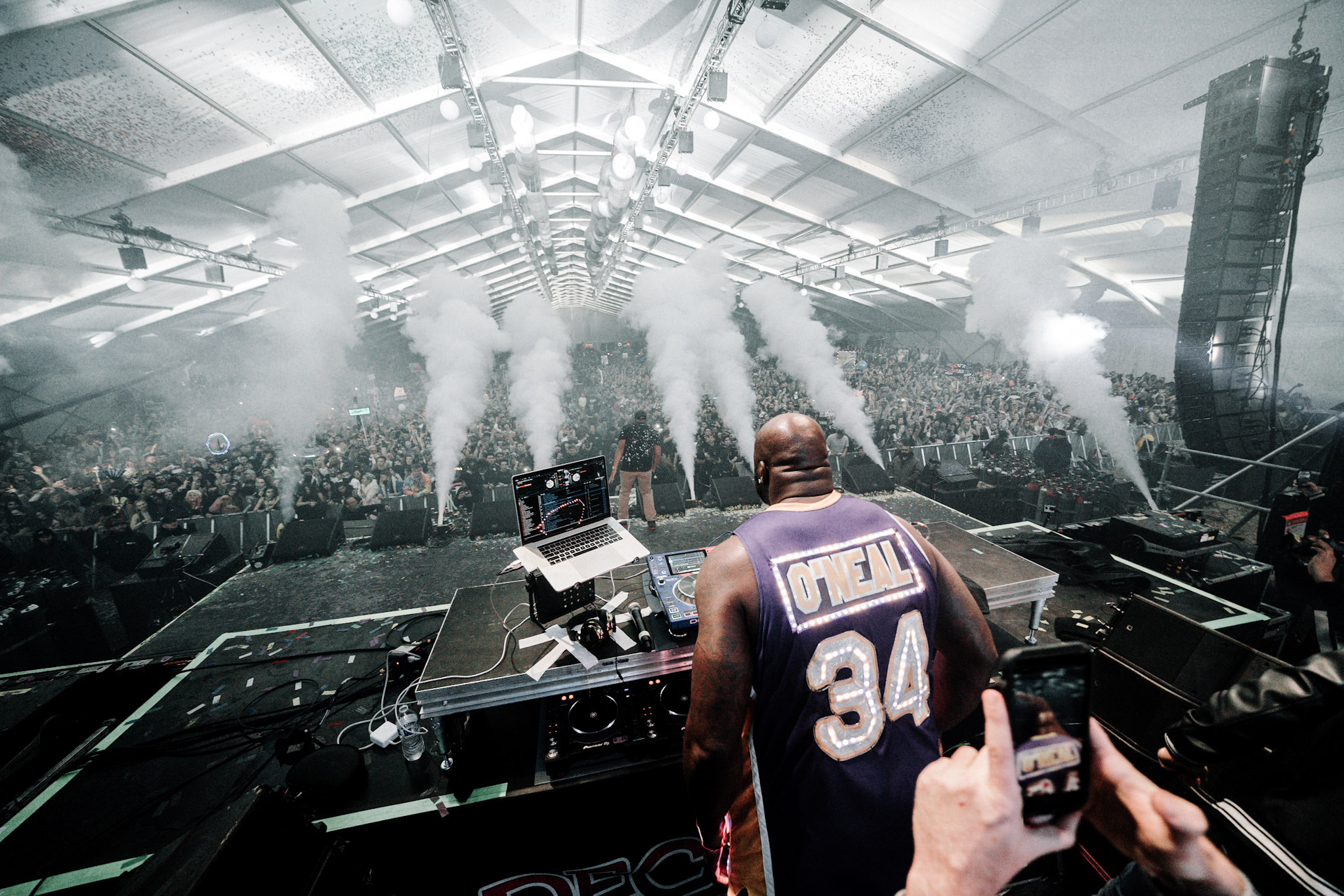 Artist:  DJ Diesel (Shaq)   Festival: Decadence AZ  Event Photography and Video