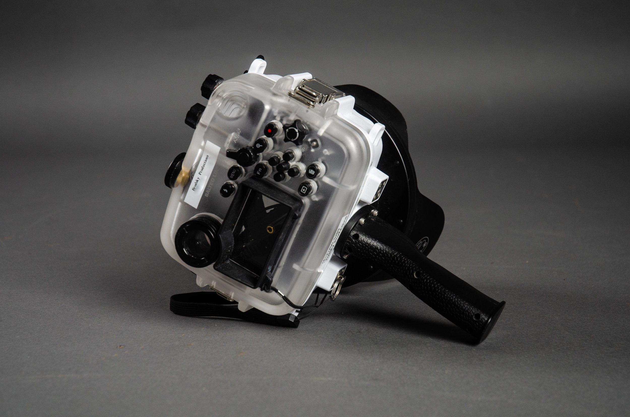 SeaFrogs UW housing for Sony A6xxx series Salted Line with pistol grip & 6 inch Dry dome port for rent LA 2.jpg