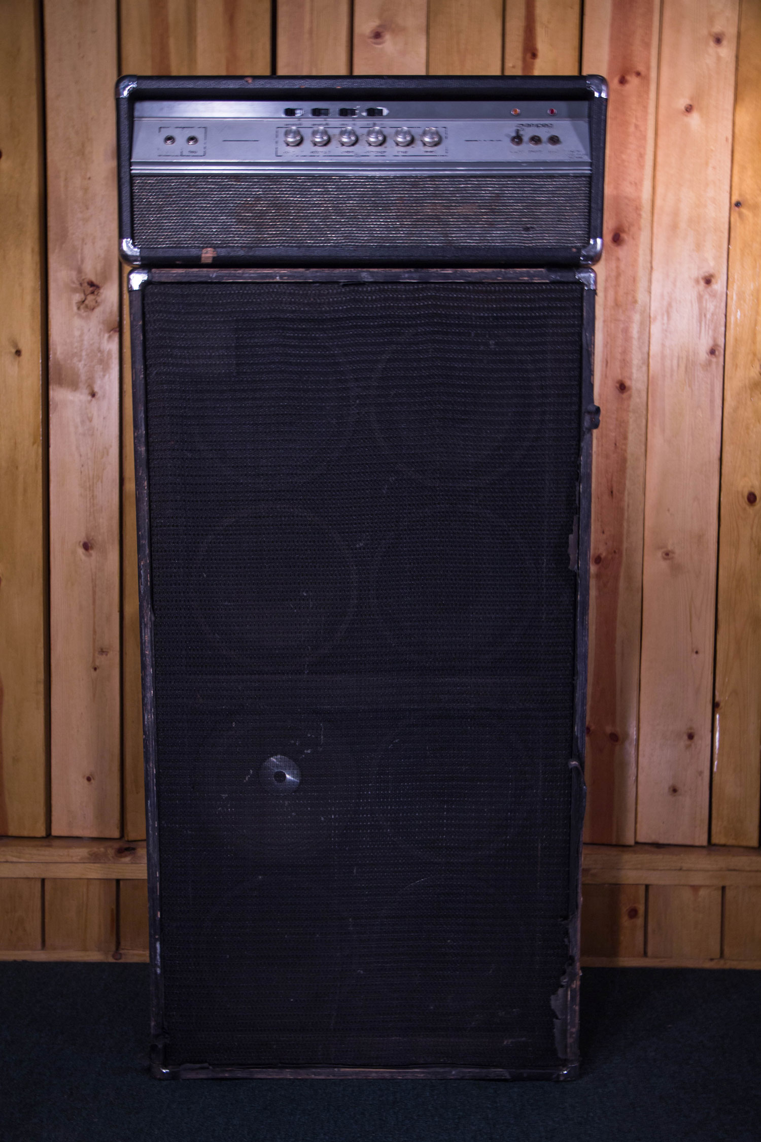 Ampeg V4 Head and Ampeg 8x10 Cab