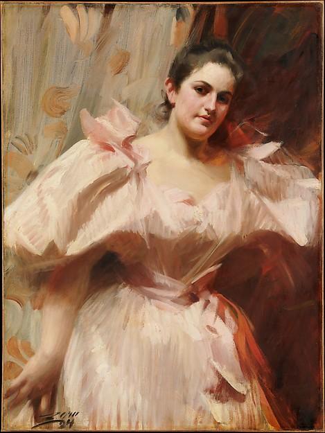 Anders Zorn,  Frieda Schiff,  1894