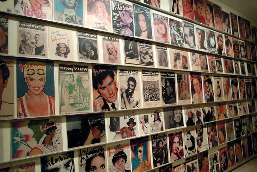 Display at The Andy Warhol Museum via Wikipedia.