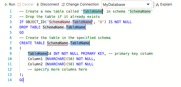 Sql Server 2017 Create Table If Not Exists How to use SQL DROP Table