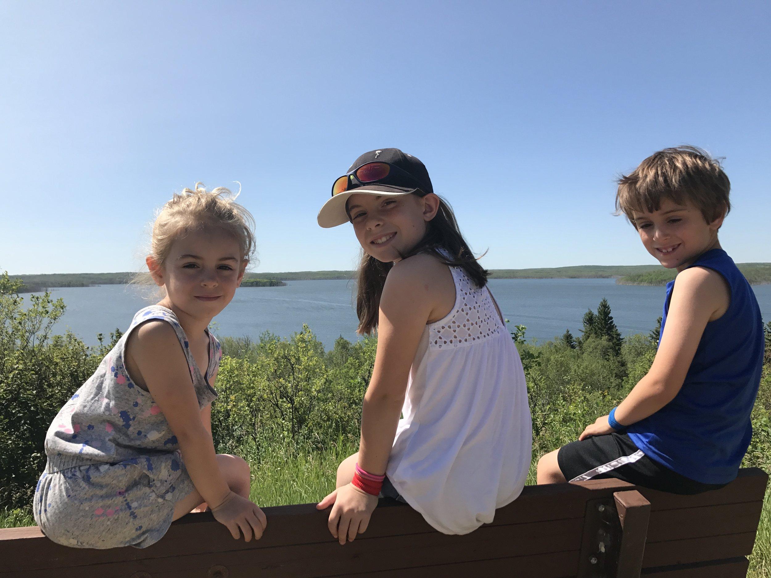 Goodbye Kenosee Lake, Moose Mountain Provincial Park, Saskatchewan.