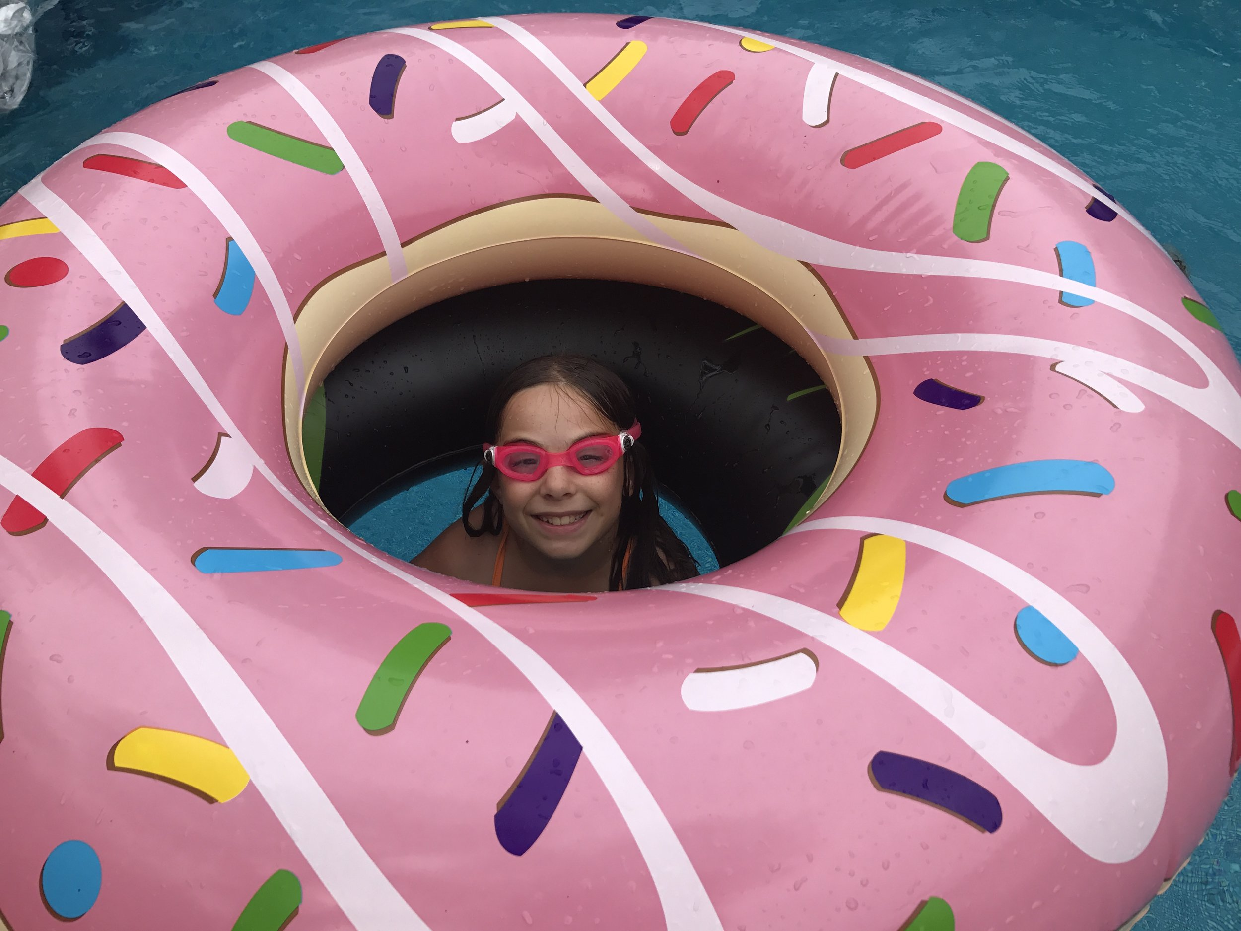 I donut want to get out!!! (Get it?)