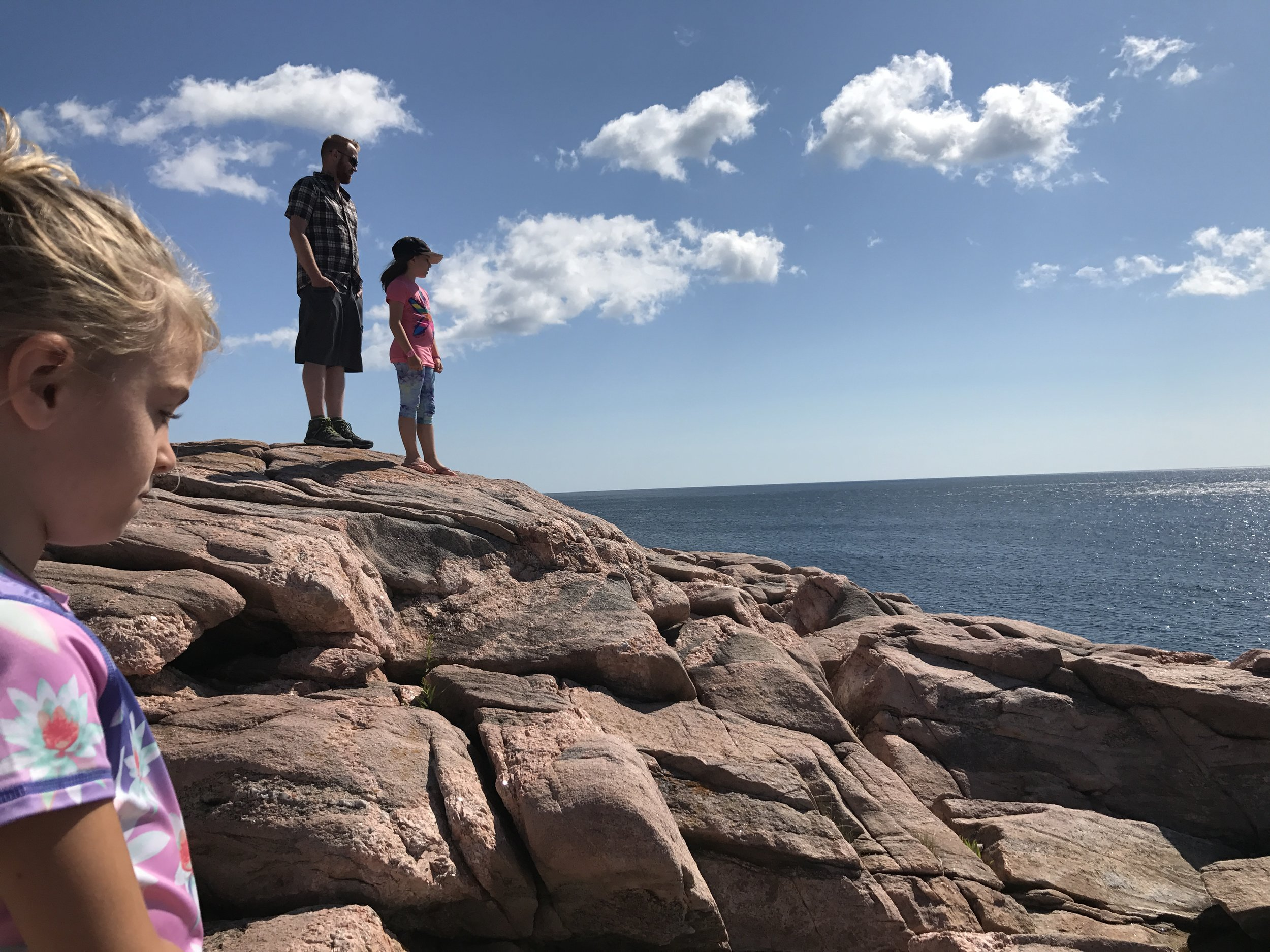 Lookout on the Cabot Trail.