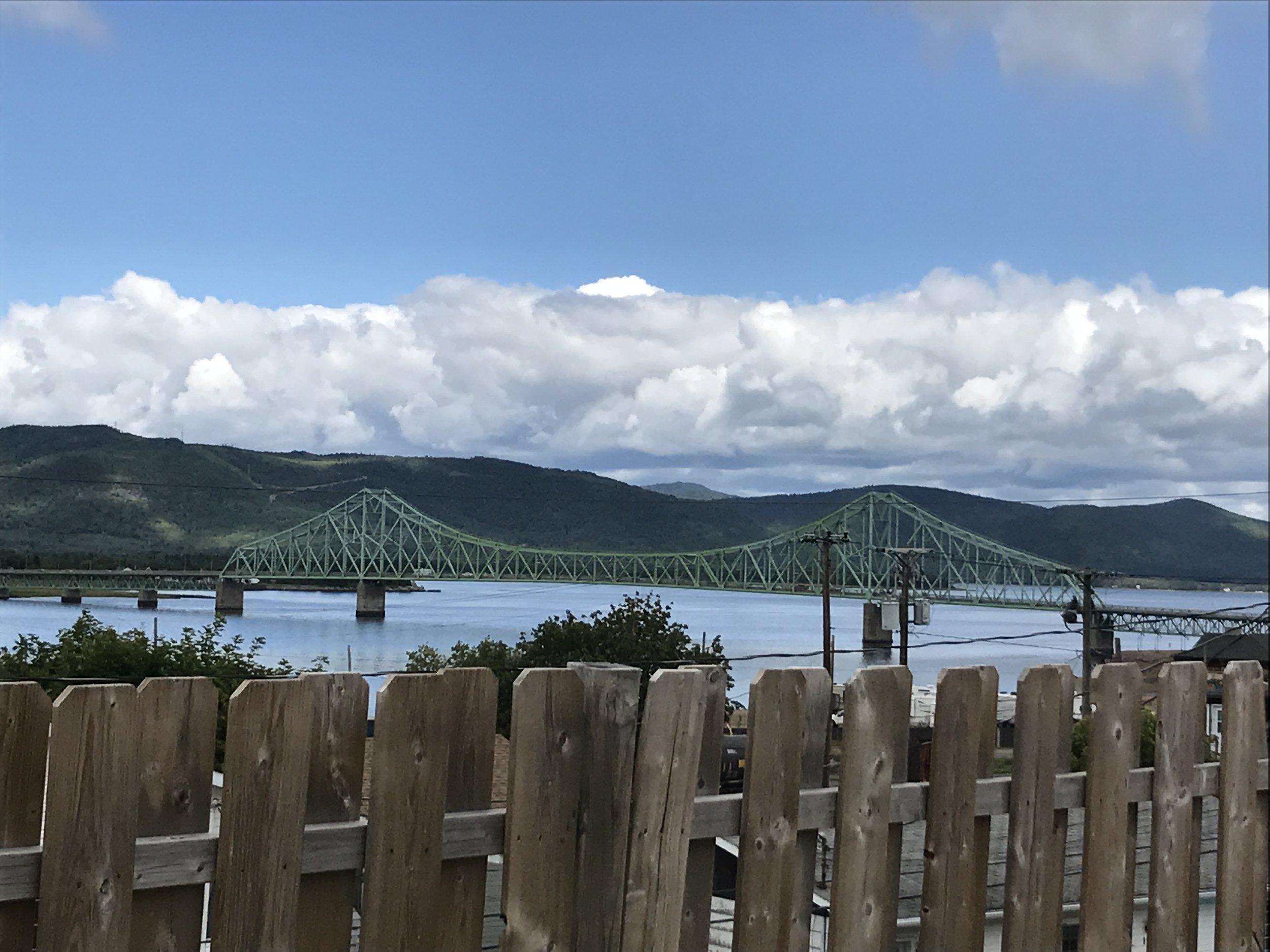 The bridge in Campbellton that links New-Brunswick to Gaspésie, Québec.
