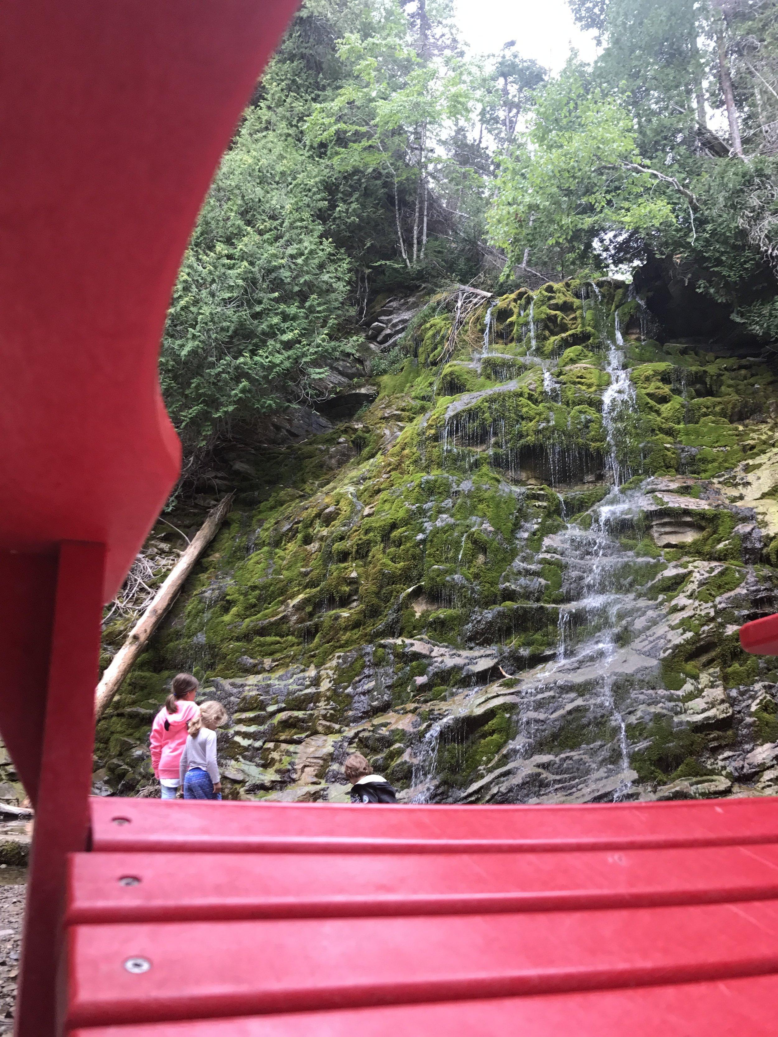 #sharethechair on the Chute (Waterfall) Trail.