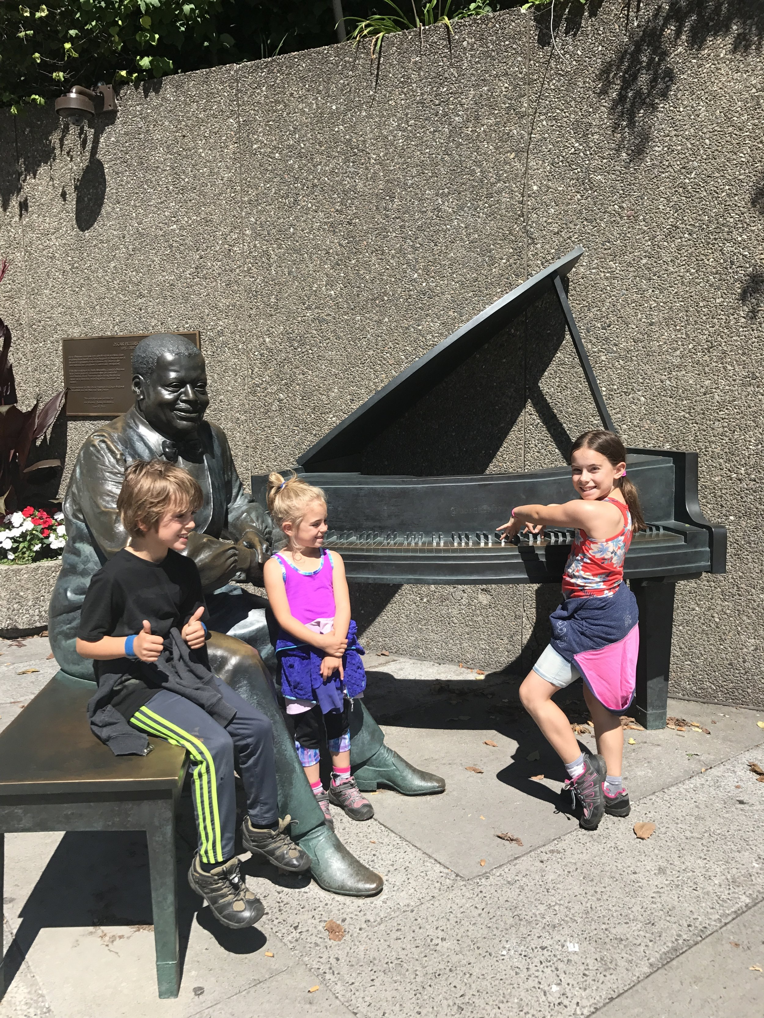 """Sing us a song you're the piano man..."" from the streets of Ottawa."