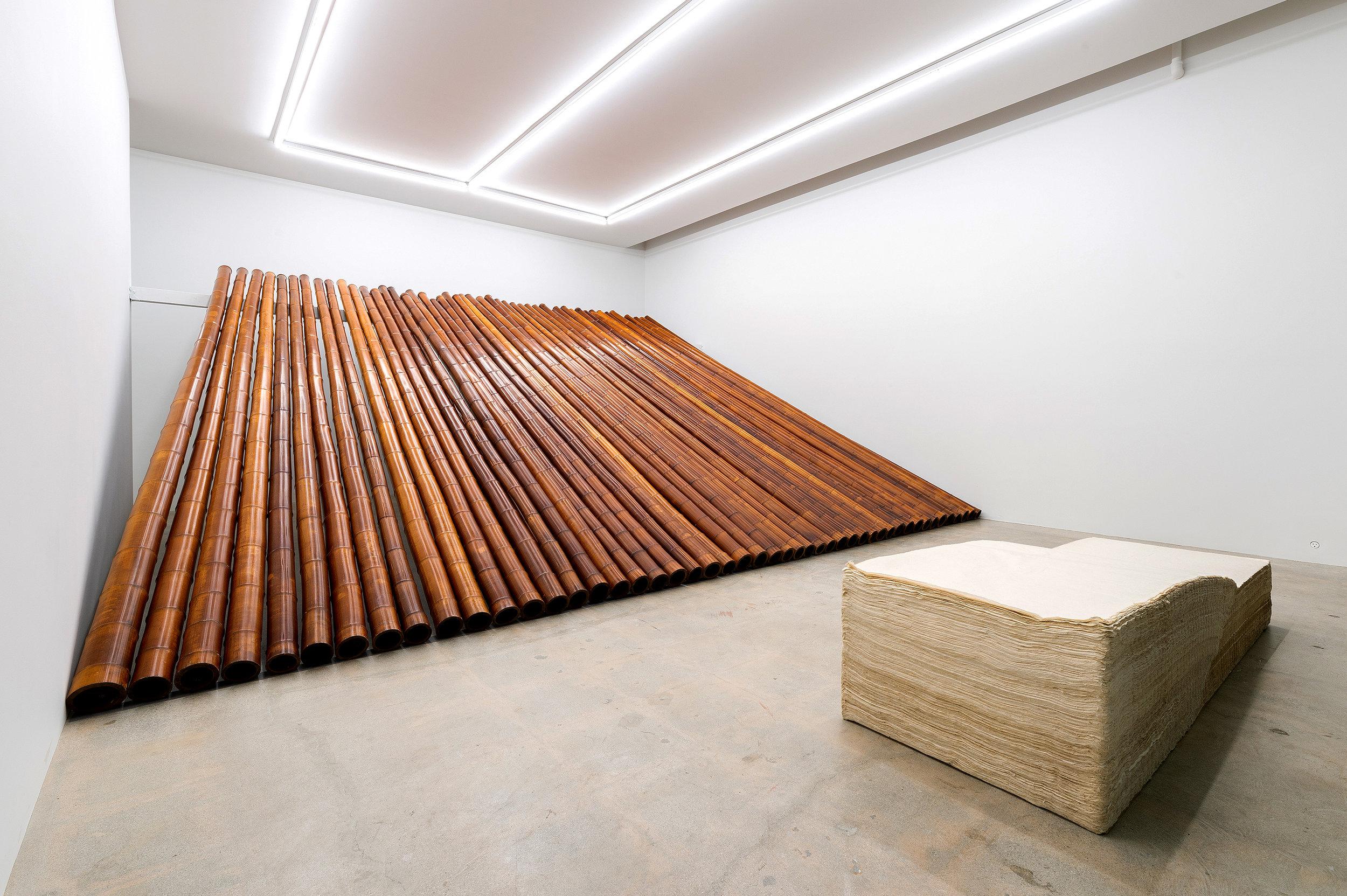 Paper No.1 BF, 1983, Bamboo No. 1 B, 1984