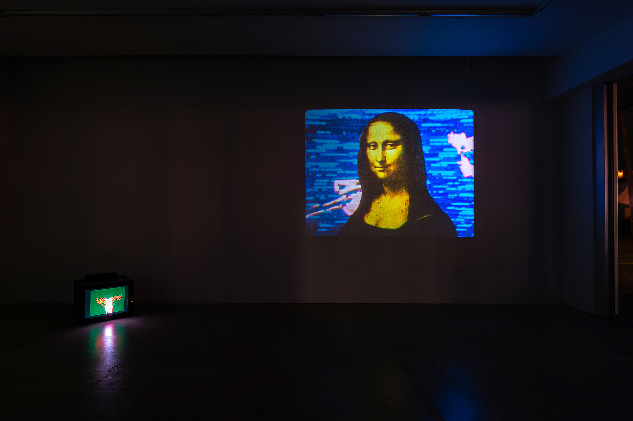 Left: Expansion, 1972, 16mm, 14min Right: Mona Lisa, 1973, 16mm, 3min