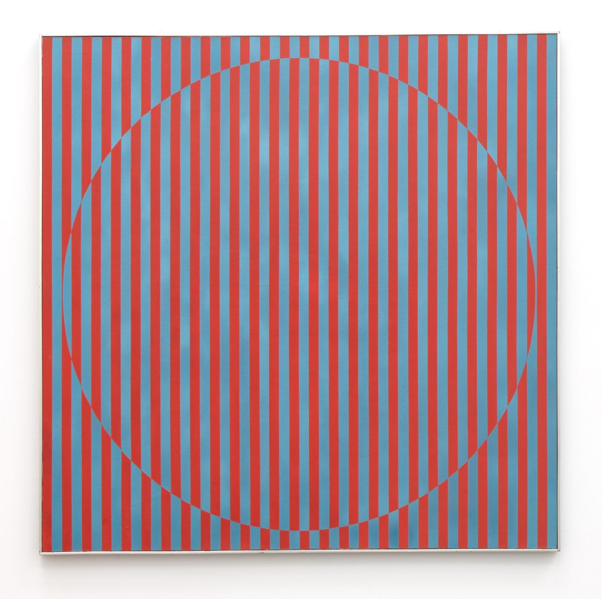 Rakuko Naito,  Untitled , 1964, acrylic on canvas, 52 x 52 inches