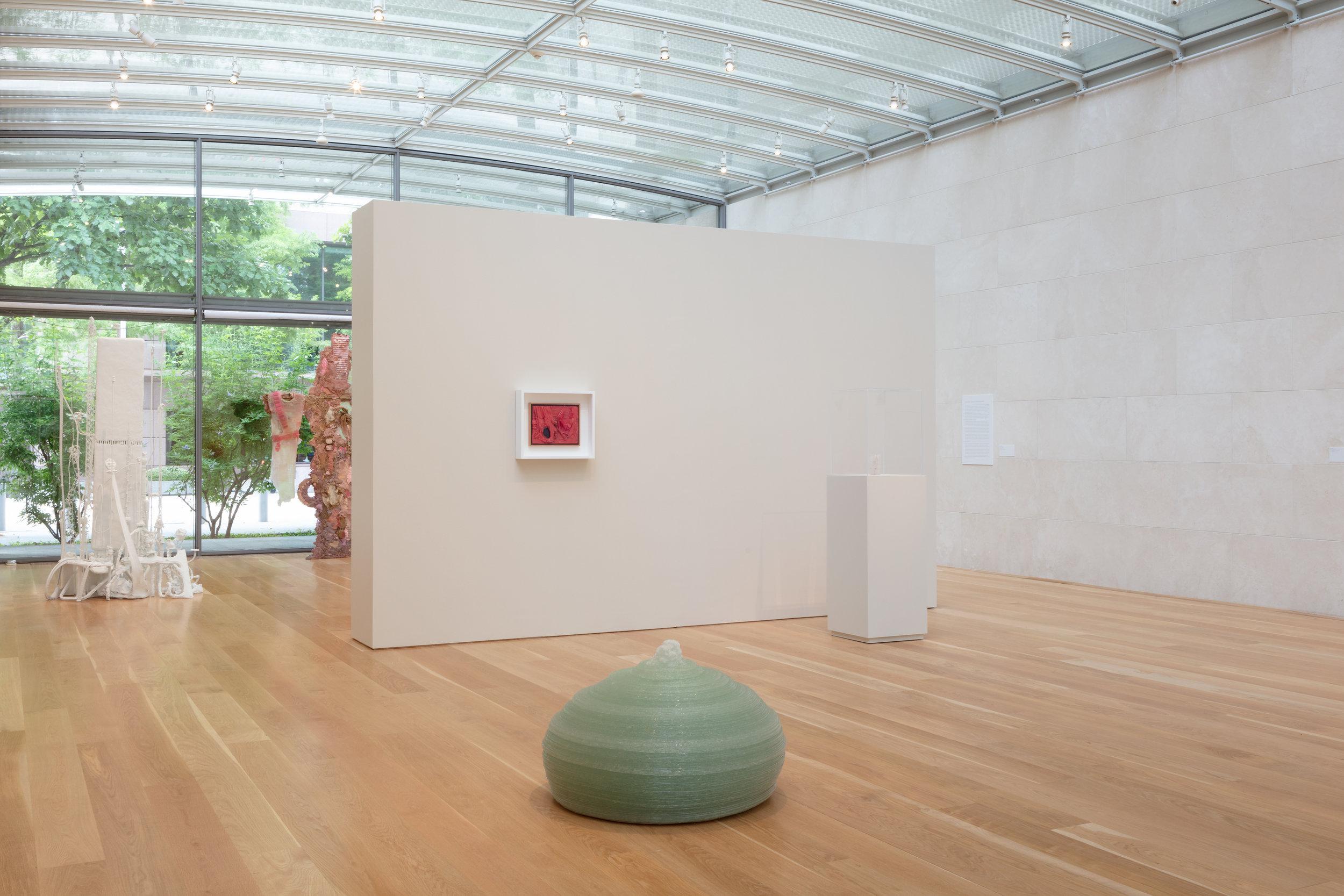 Kazuo Kadonaga,  Glass No. 4 L , 1999, Glass. (1477 lbs. / 670 kg.), 24-1/4 x 39 x 39 inches, 62 x 99 x 99 cm