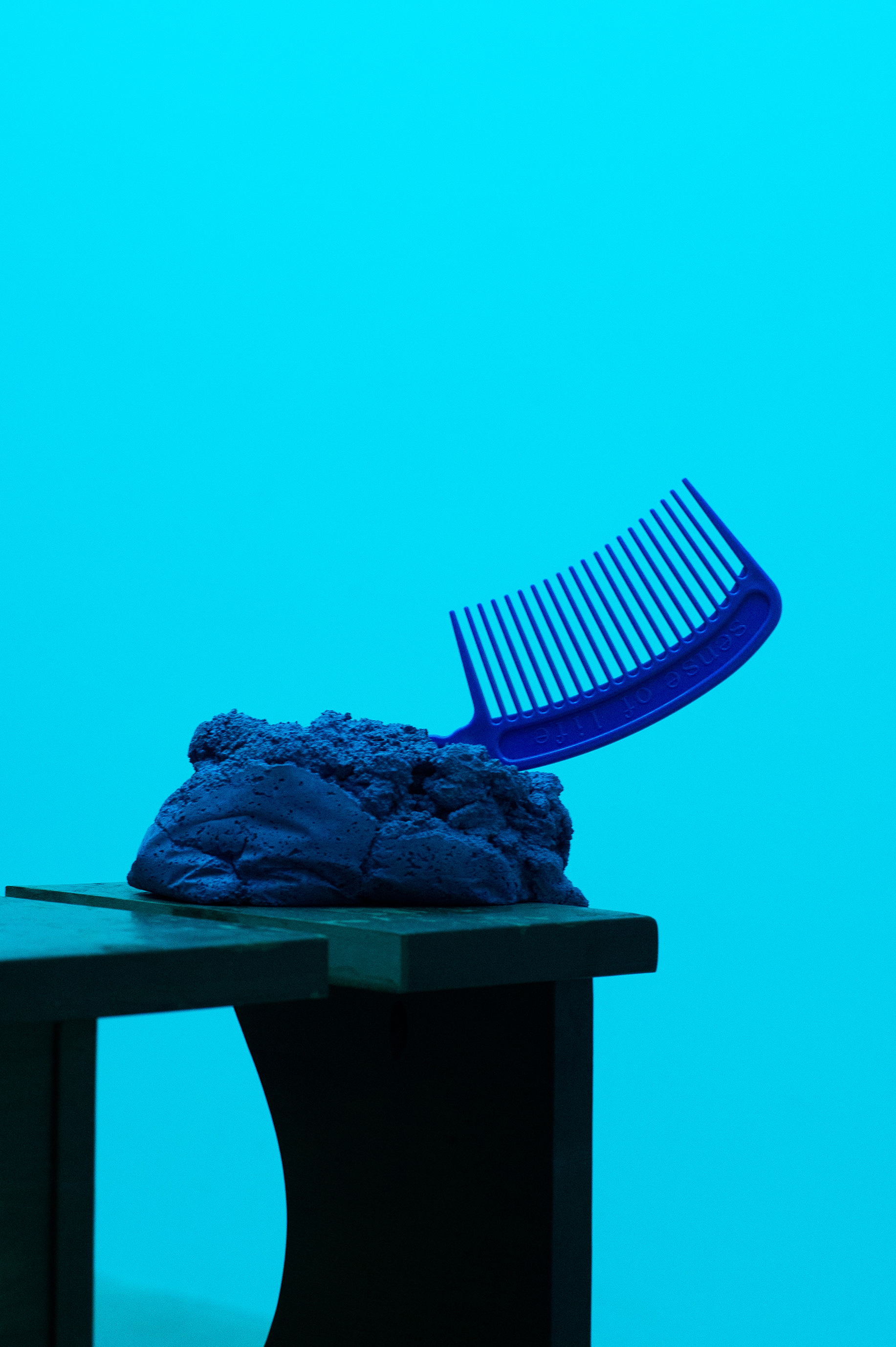 Comb and Side table, 2019