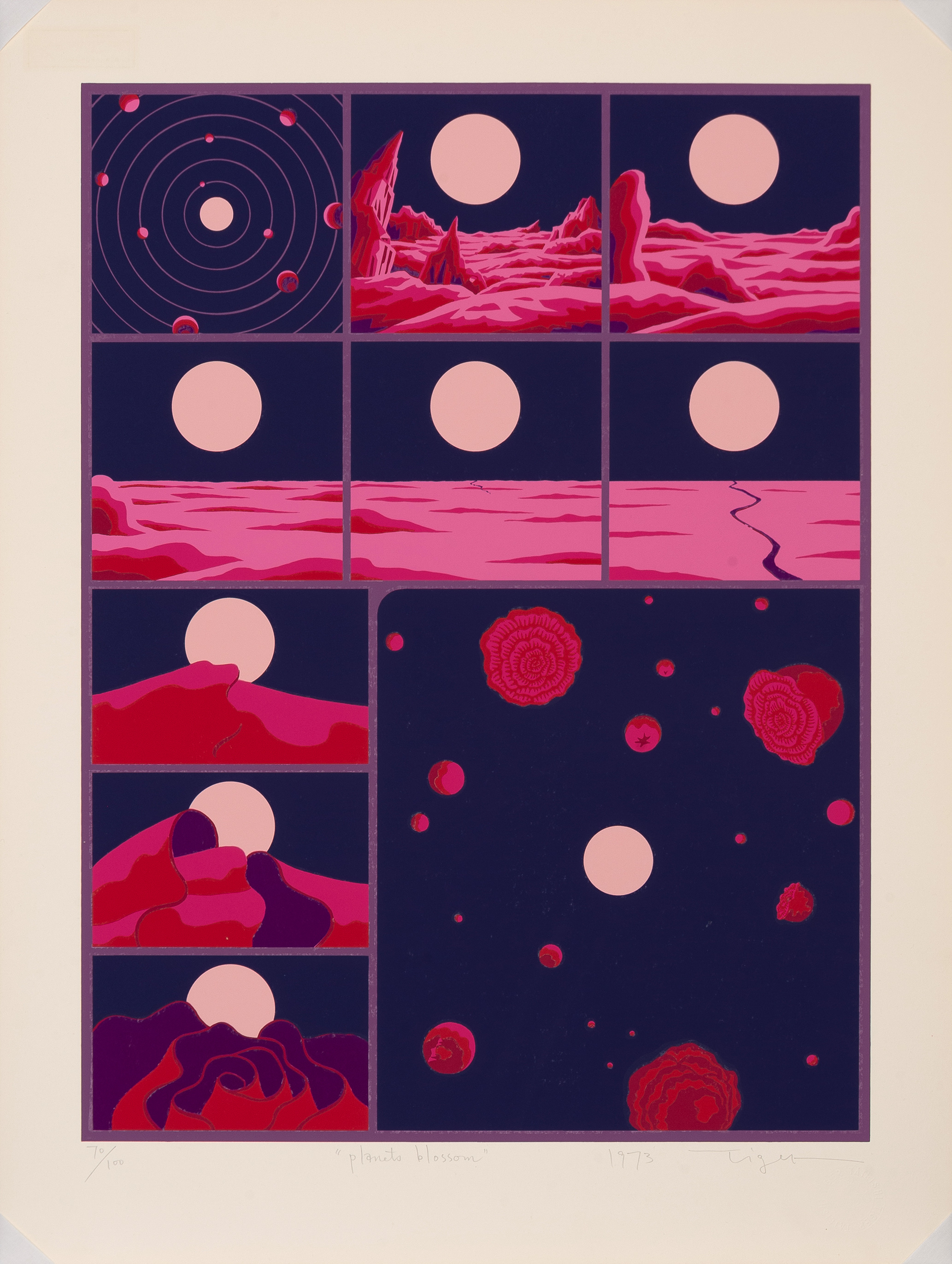 Planets Blossom, 1973