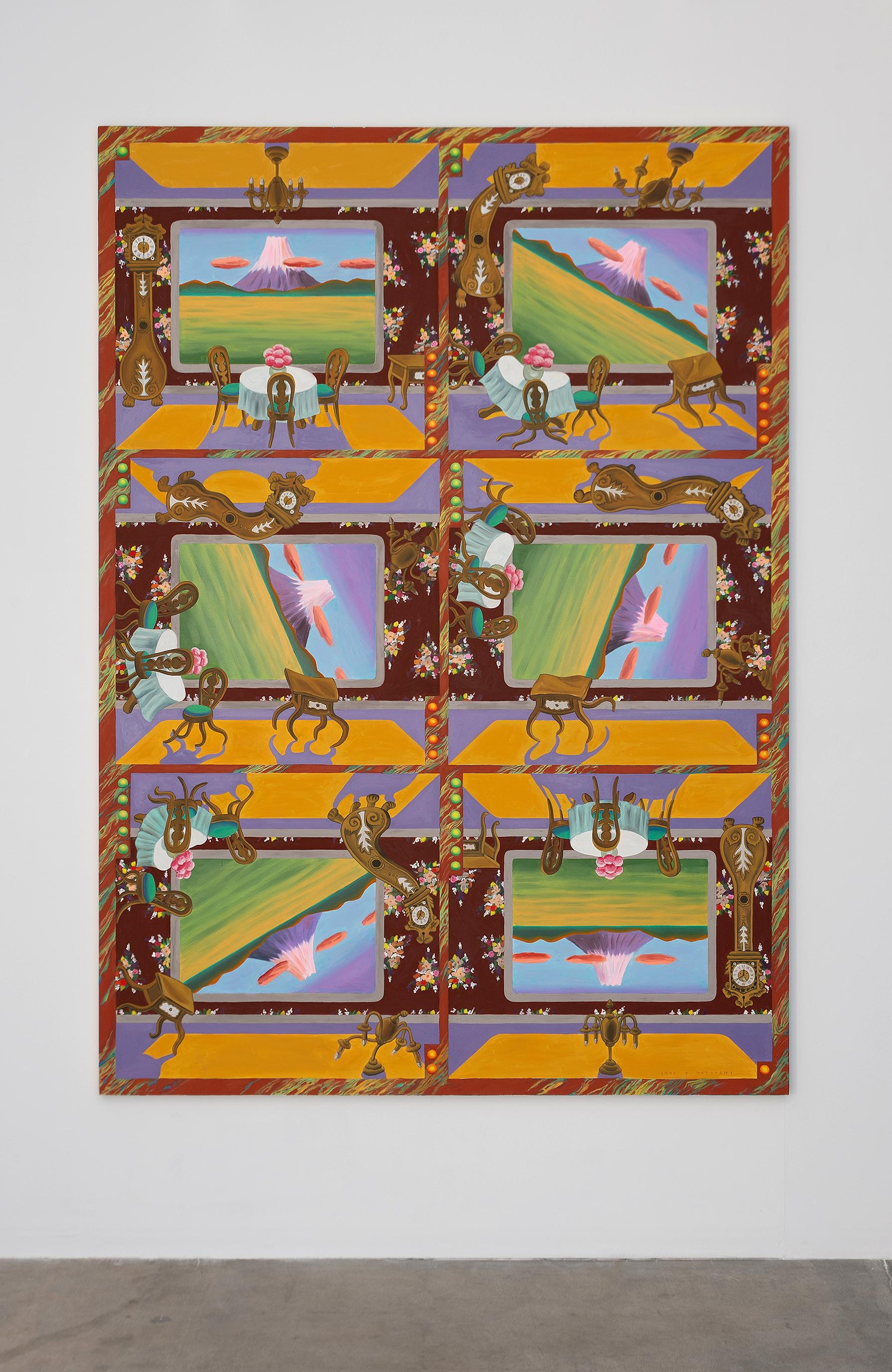 Revolving Fuji (回転富士), 1991