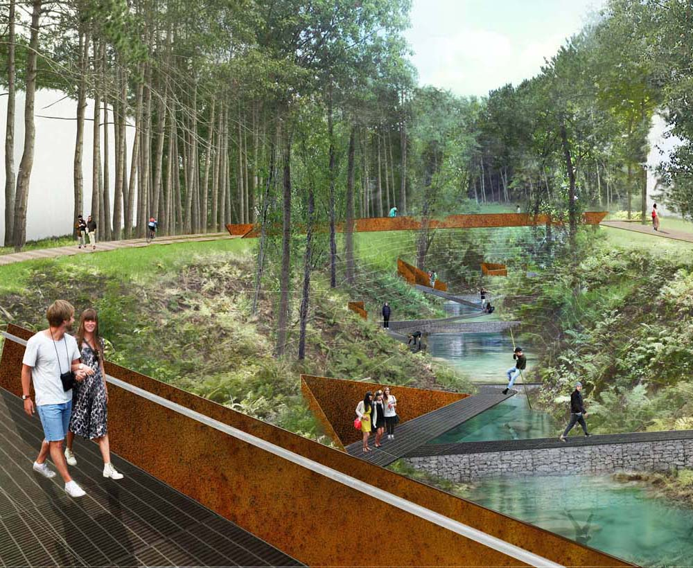 West Lebanon, NH    River Park Competition    View Project
