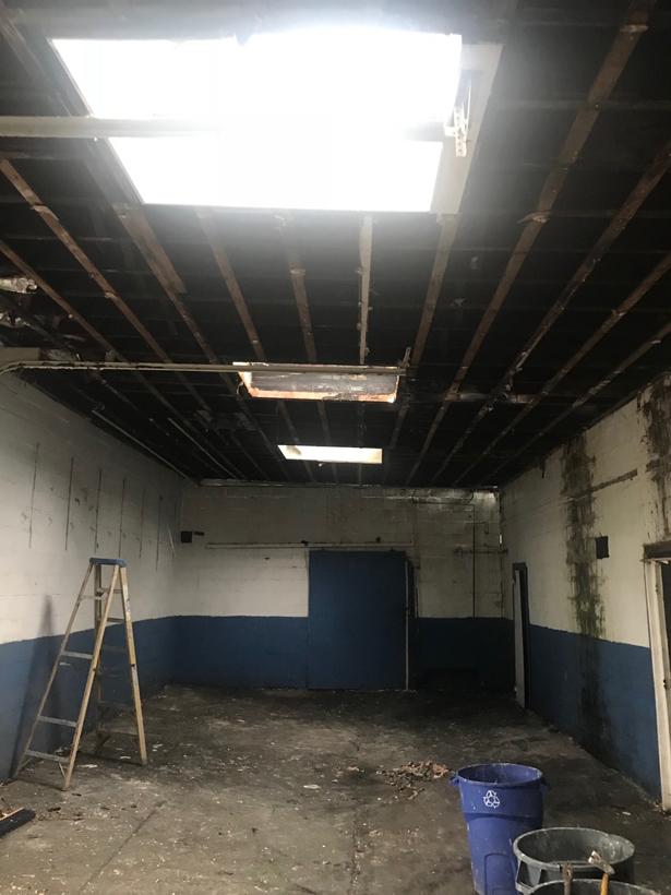 Very leaky ceiling!