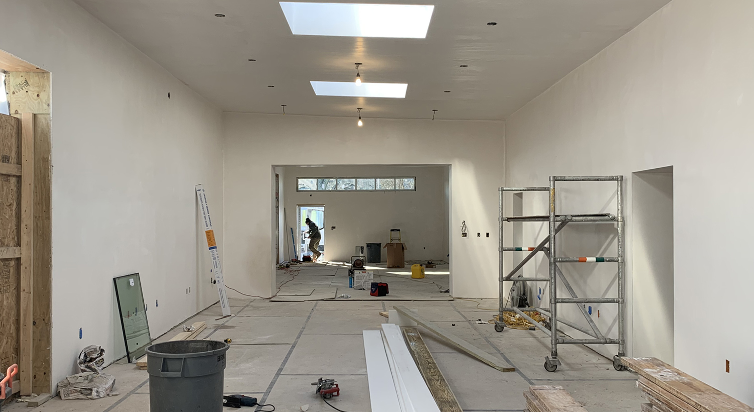 4. Taking Shape - Let There Be White! (December-January 12):