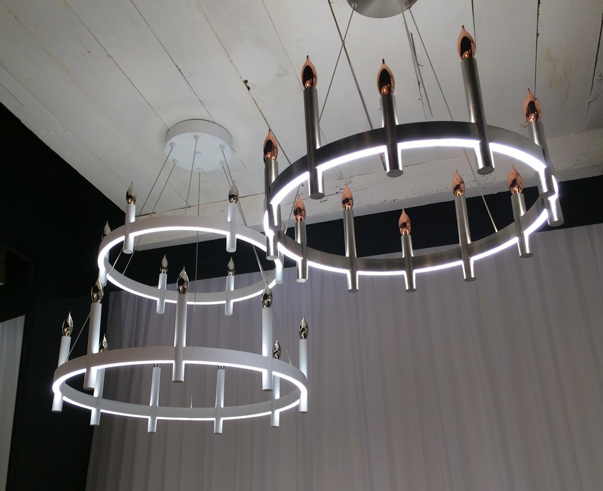 Tech Lighting Fiama chandelier