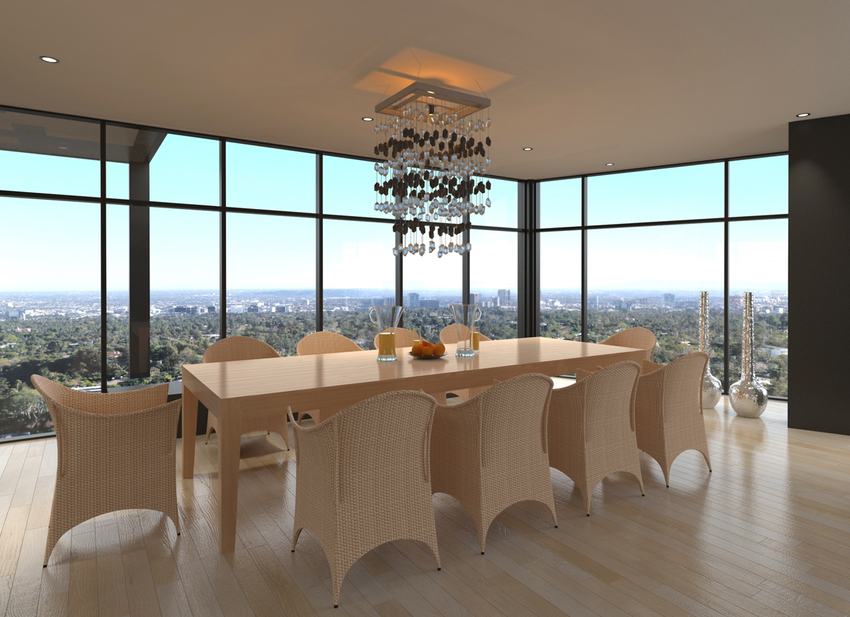Let your dining room pendant create a focal point