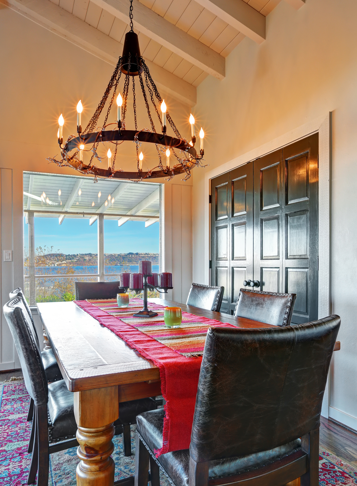 Let your dining room light reflect your personal style