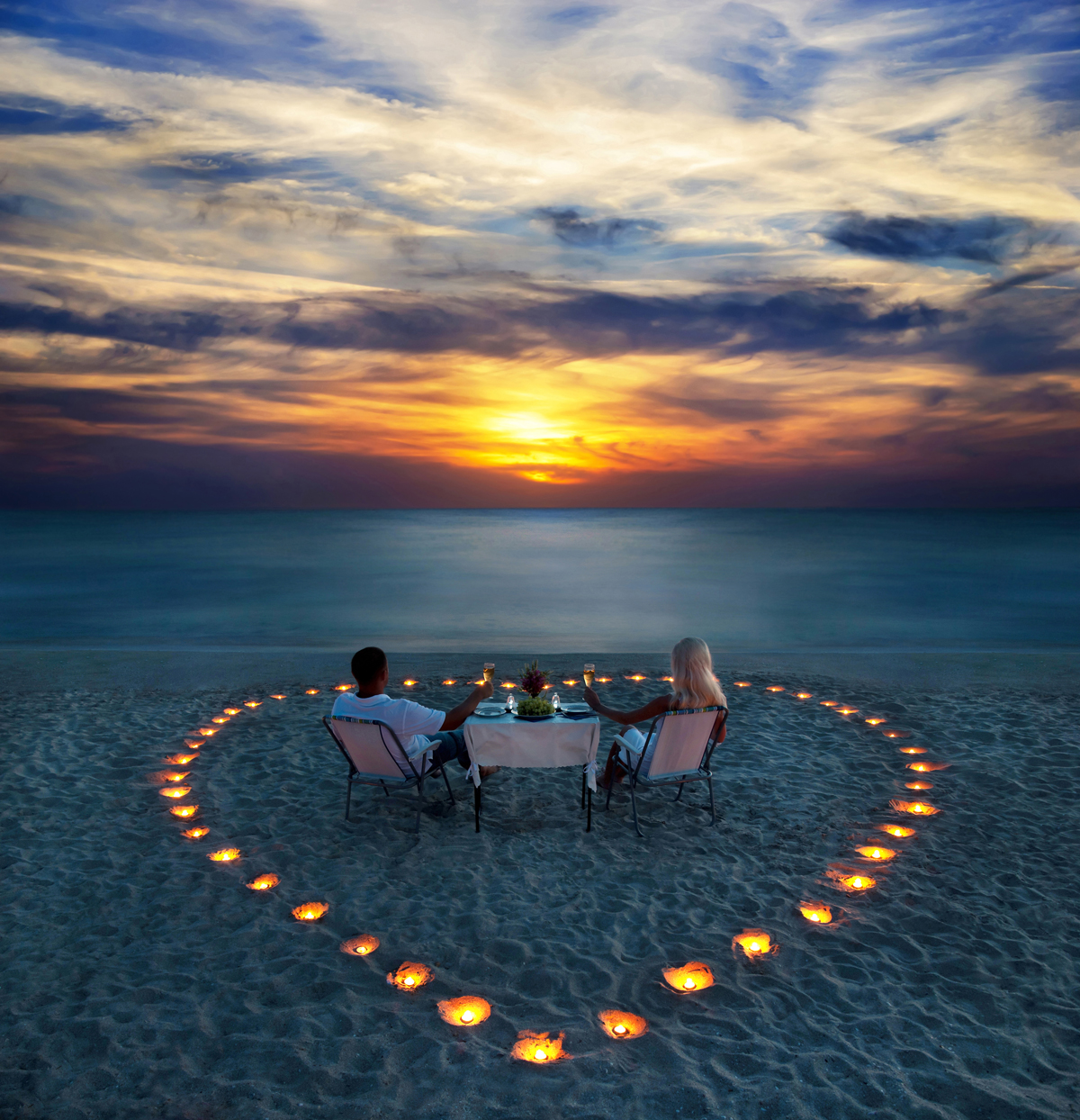 Light and love - happy valentines day